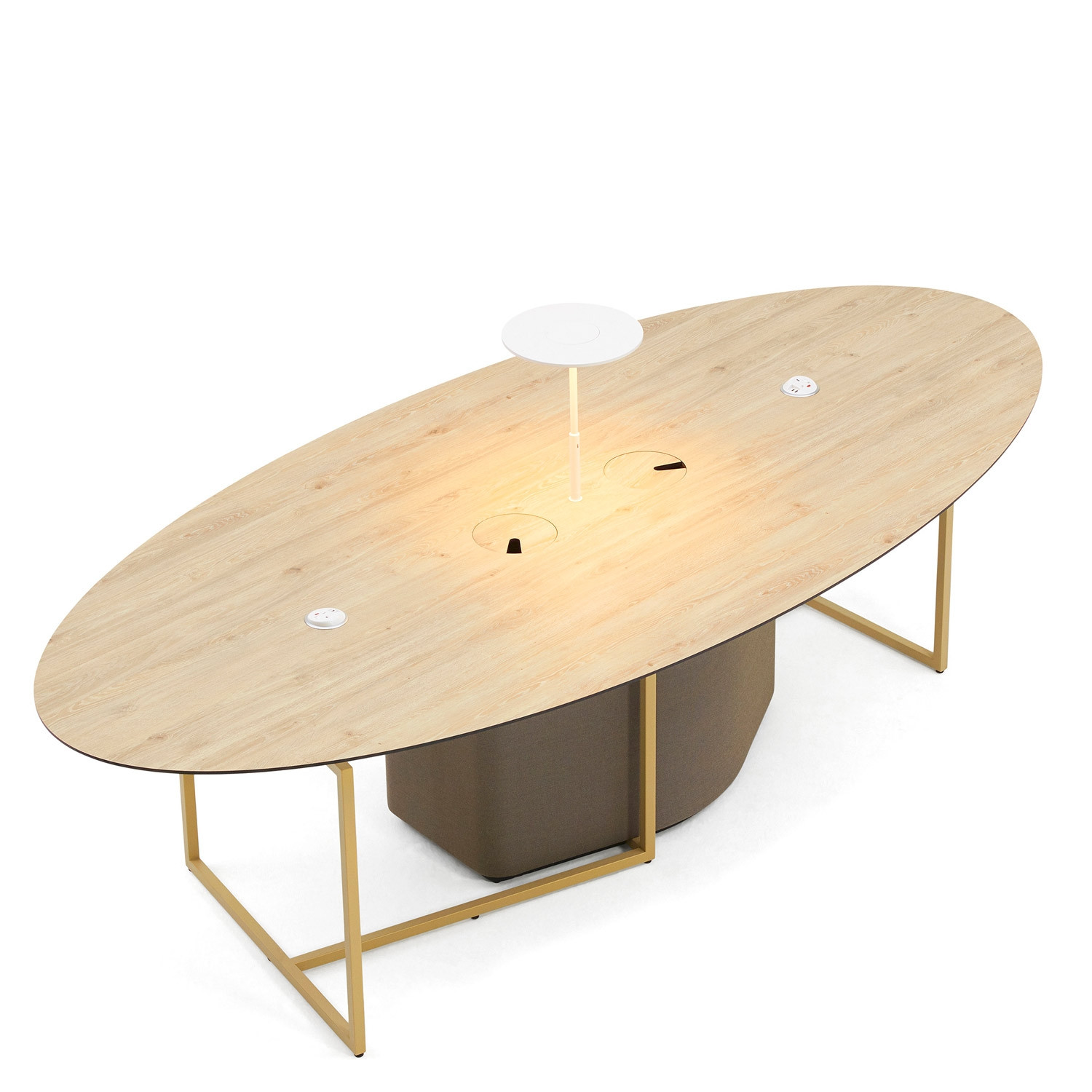Fielding Worktable Oval