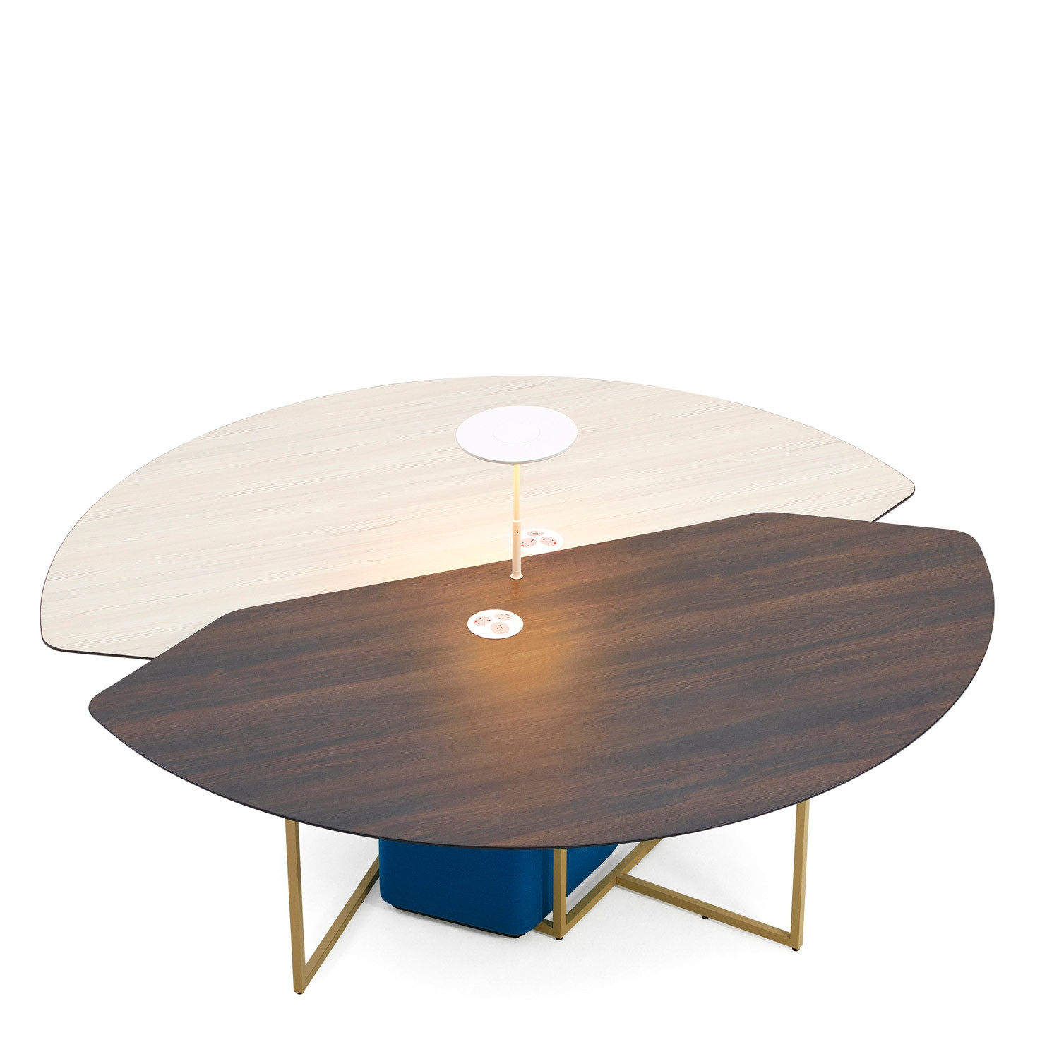 Round Fielding Table