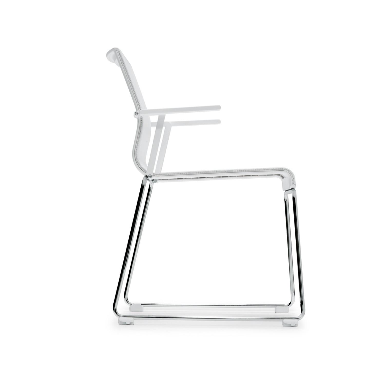 Stick Skid Base Armchair