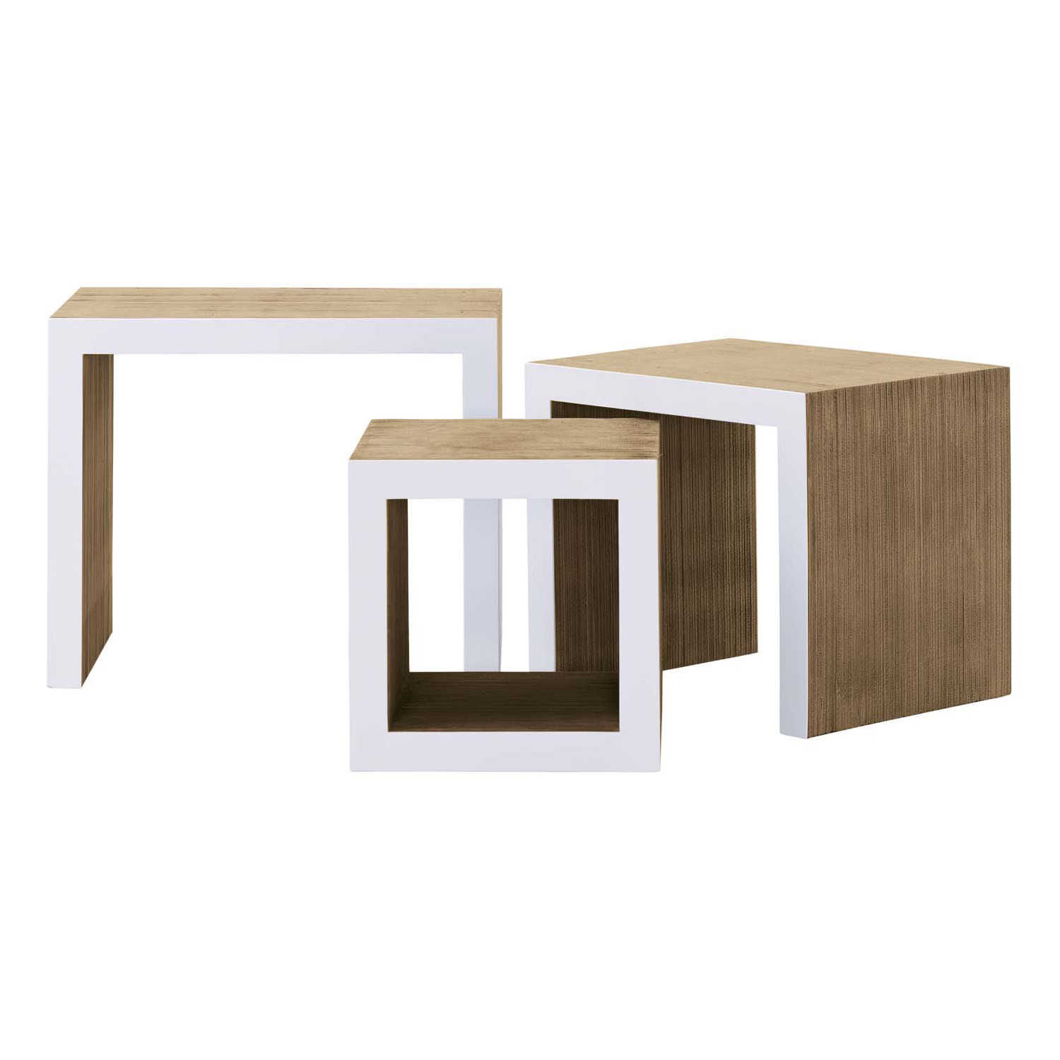 Frank Gehry's Low Table Set
