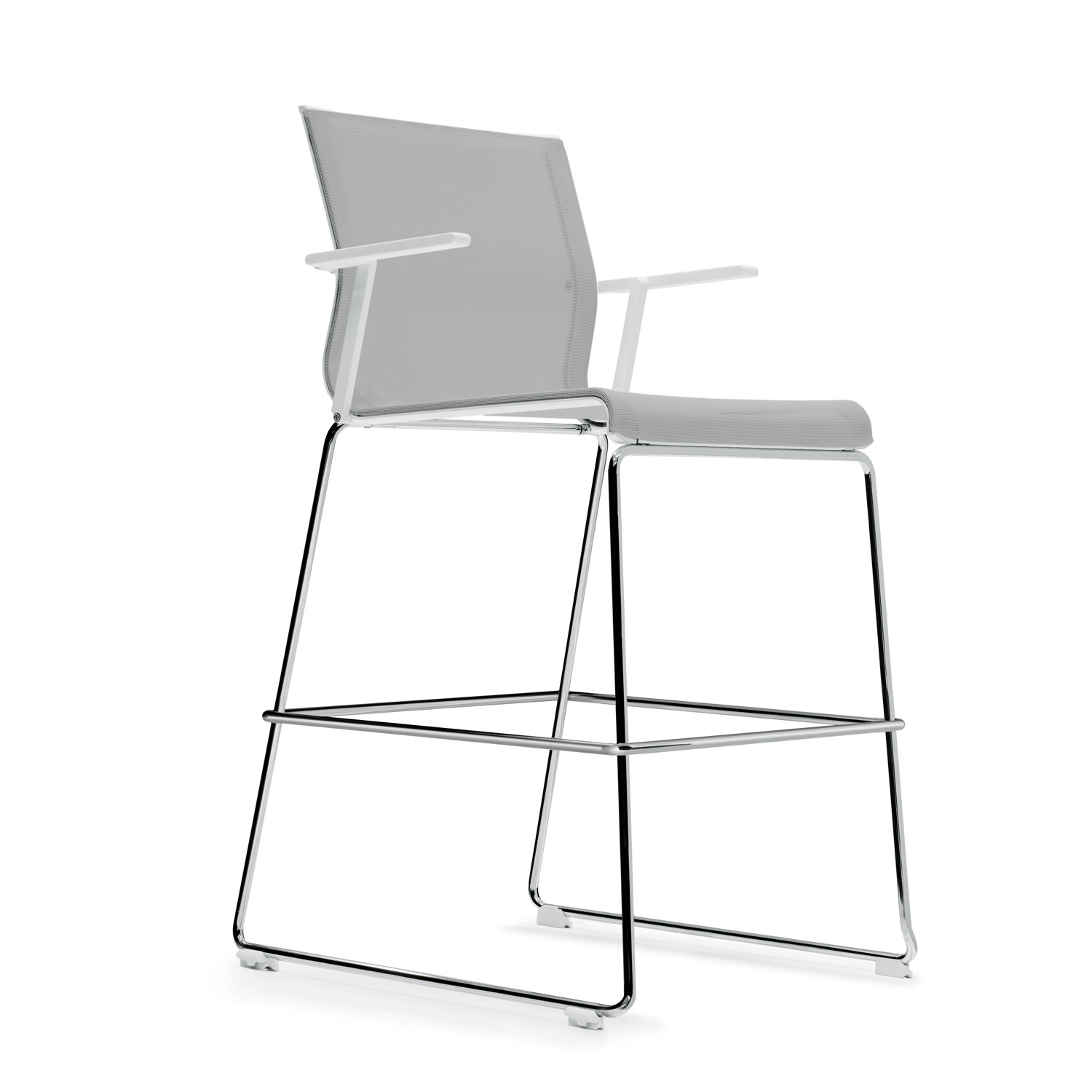 Stick High Stool with arms by ICF Spa