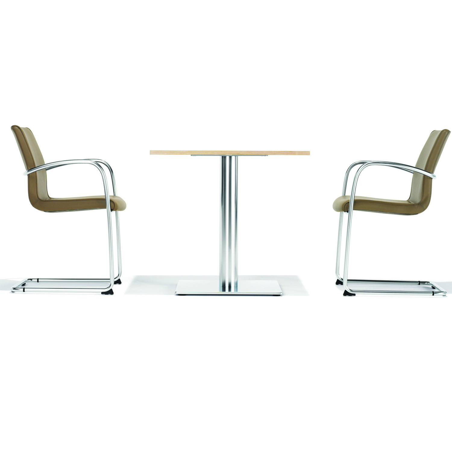 8500 Ona Plaza Cantilever Armchairs