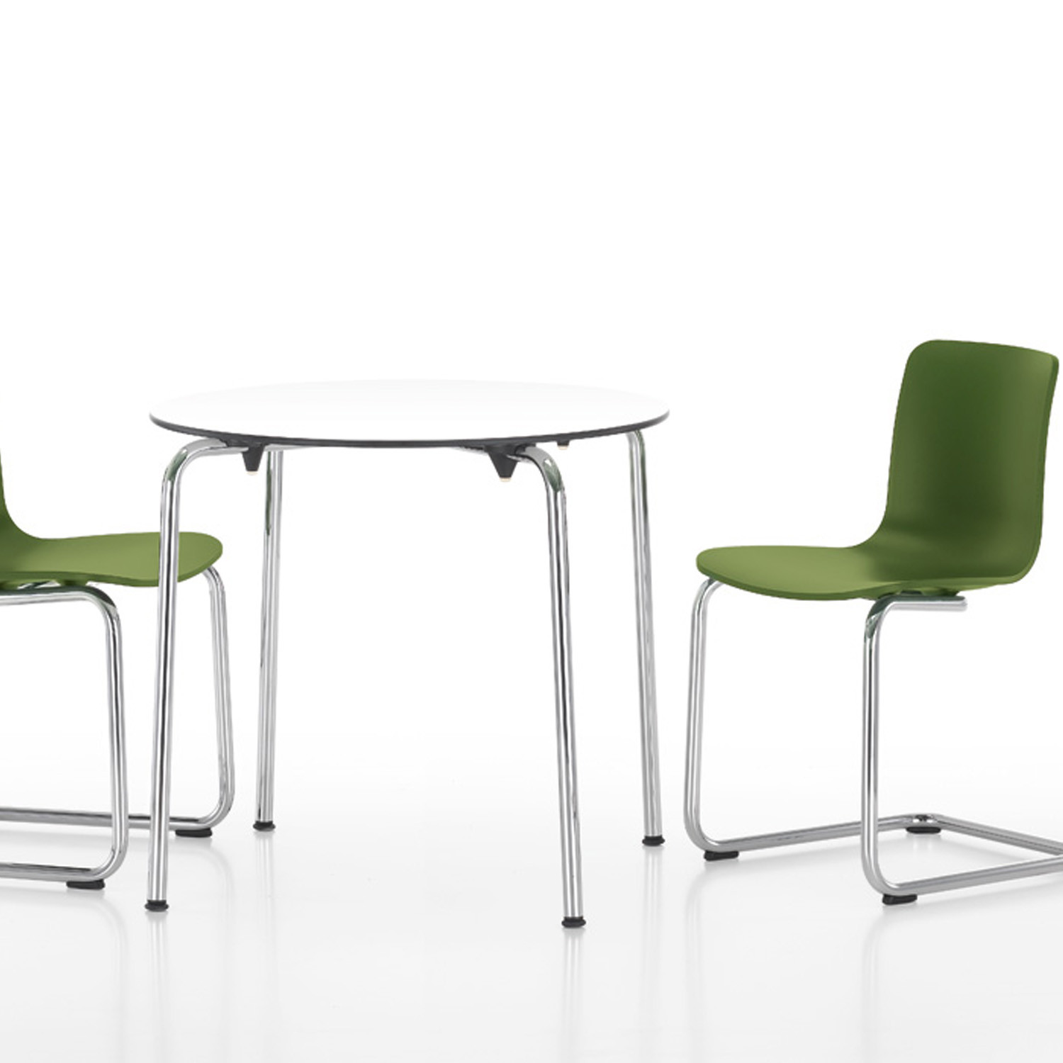 Circular HAL table and chairs