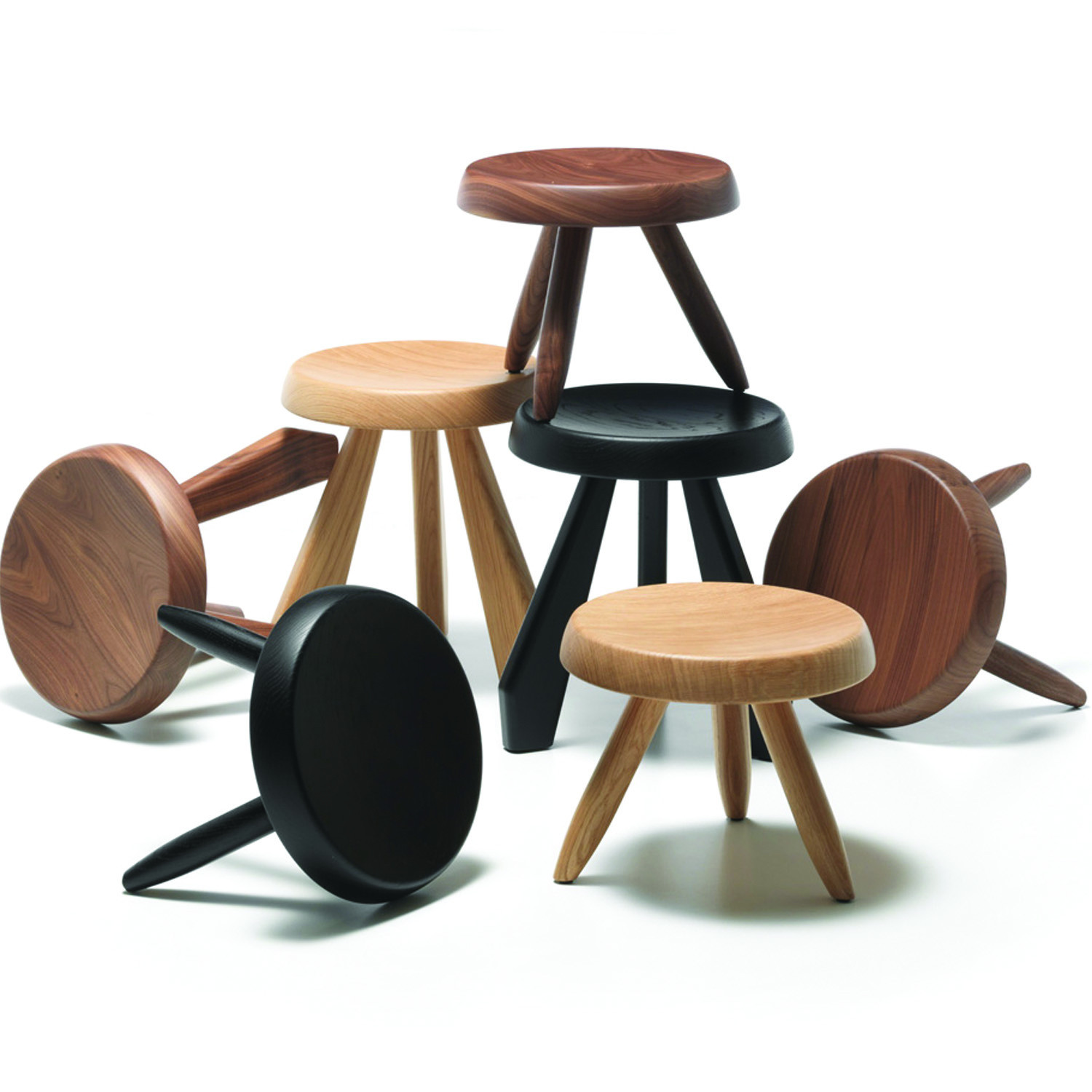524 Tabouret Berger Stools by Cassina