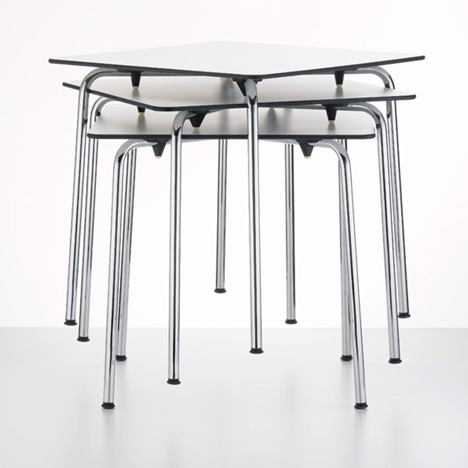 Vitra HAL Tables stacked