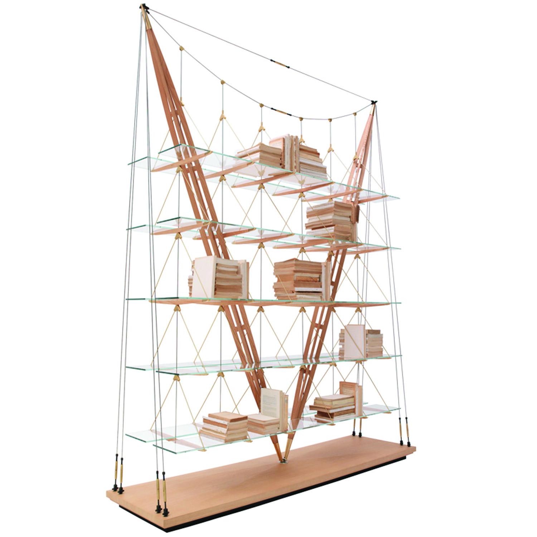 838 Veliero Bookcase Angle
