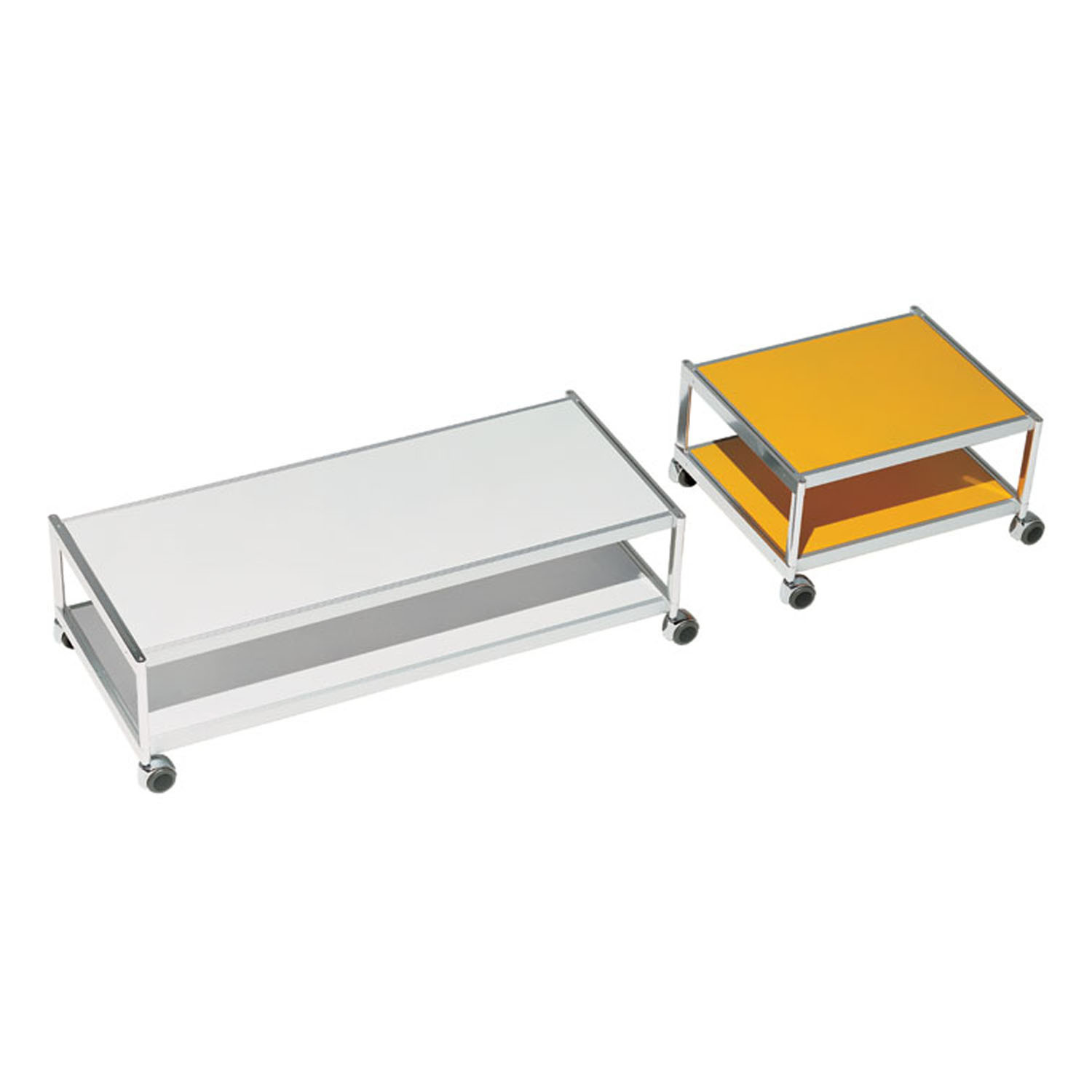 SEC Trolleys - 2 shelves