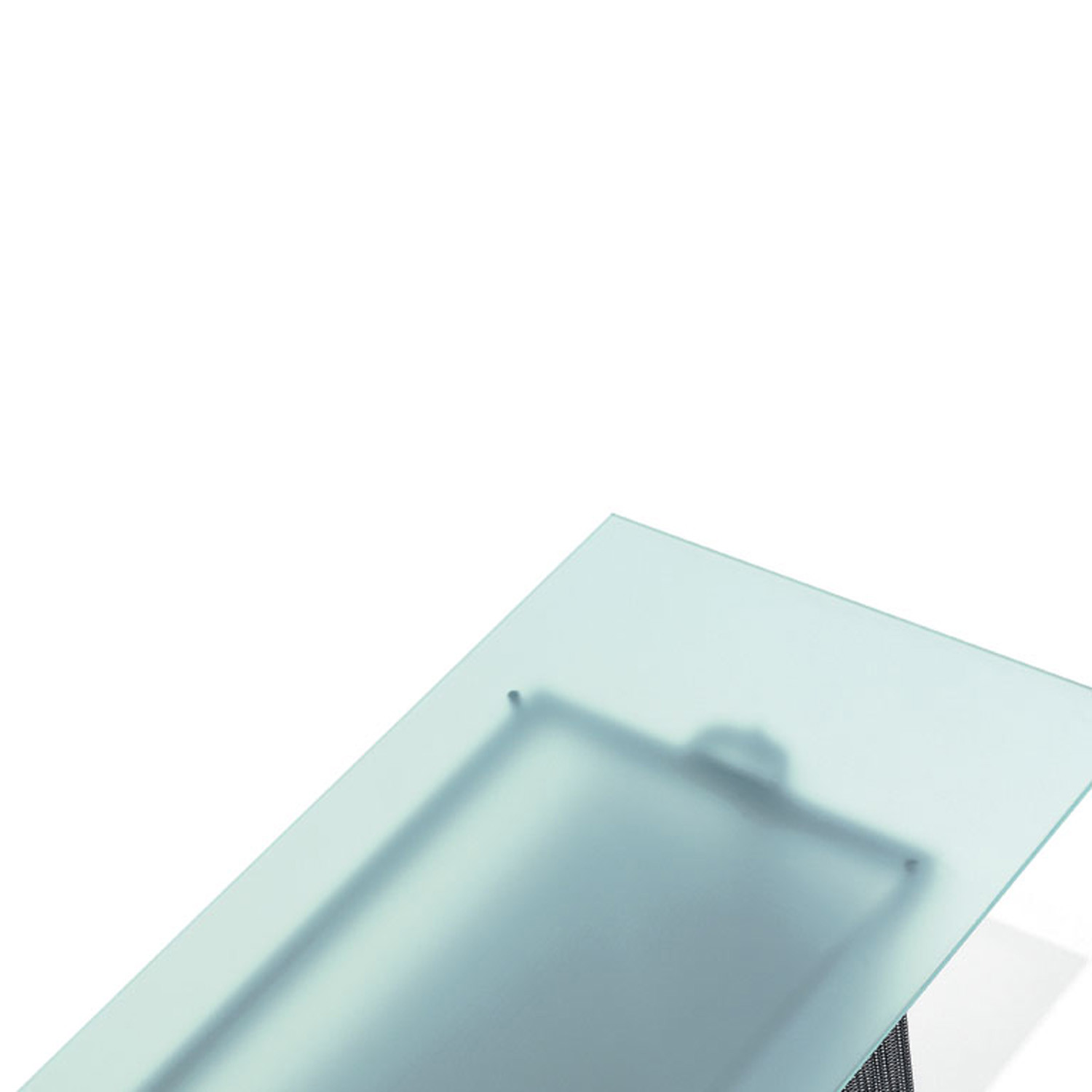 Tesi Table Etched Glass Top