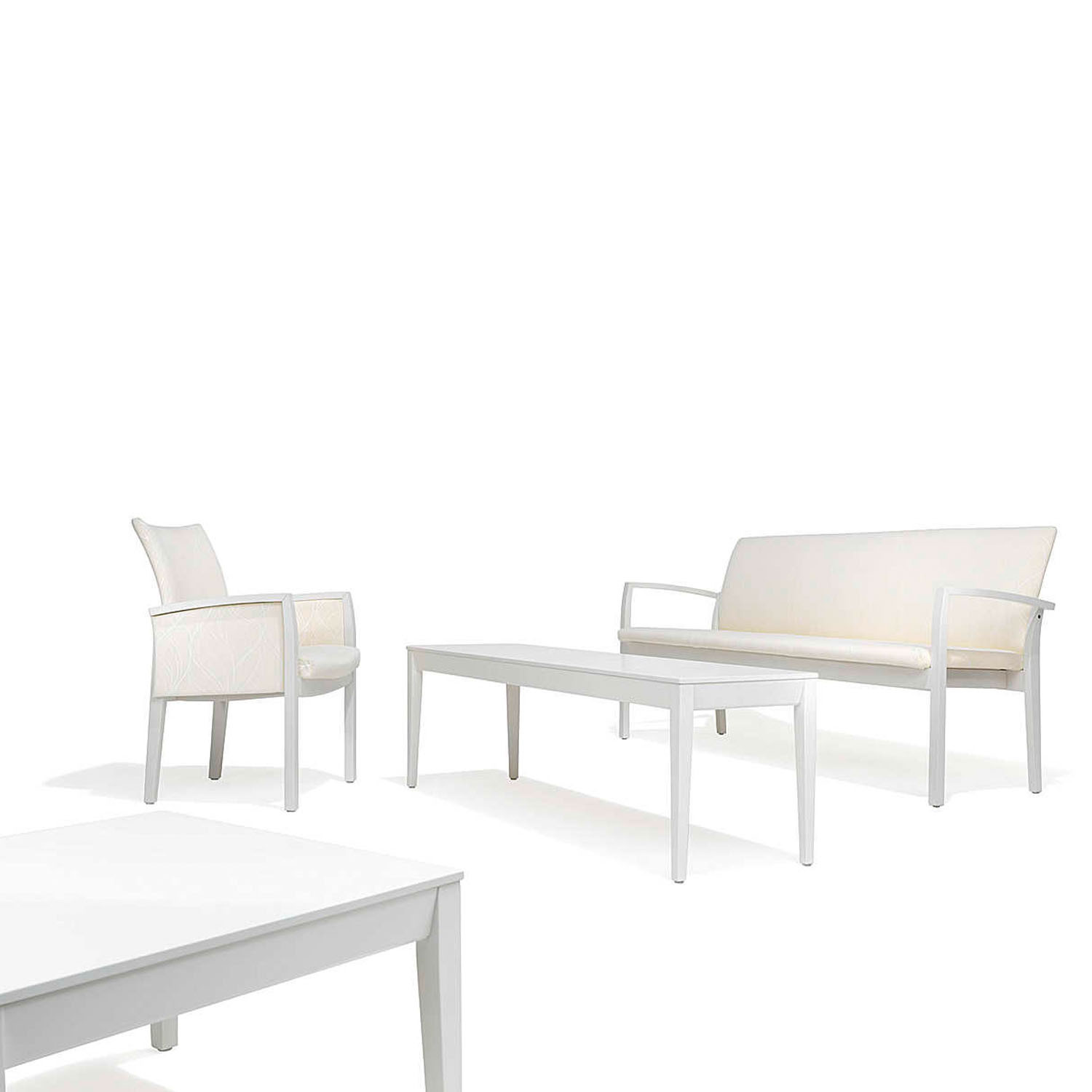 3700 Palato Bench is available as a 2 and 3 seater
