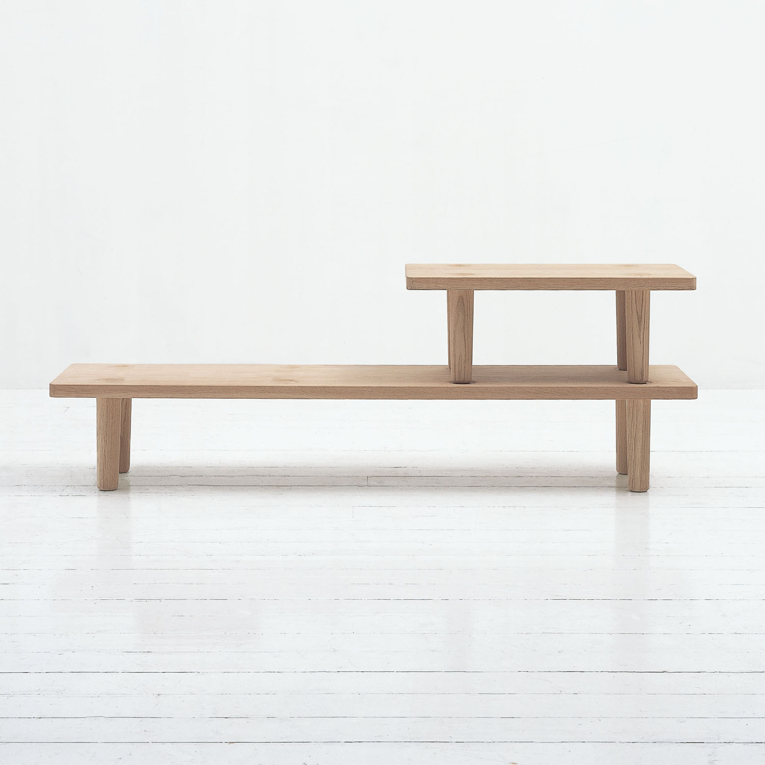 Oak Low Coffee Table