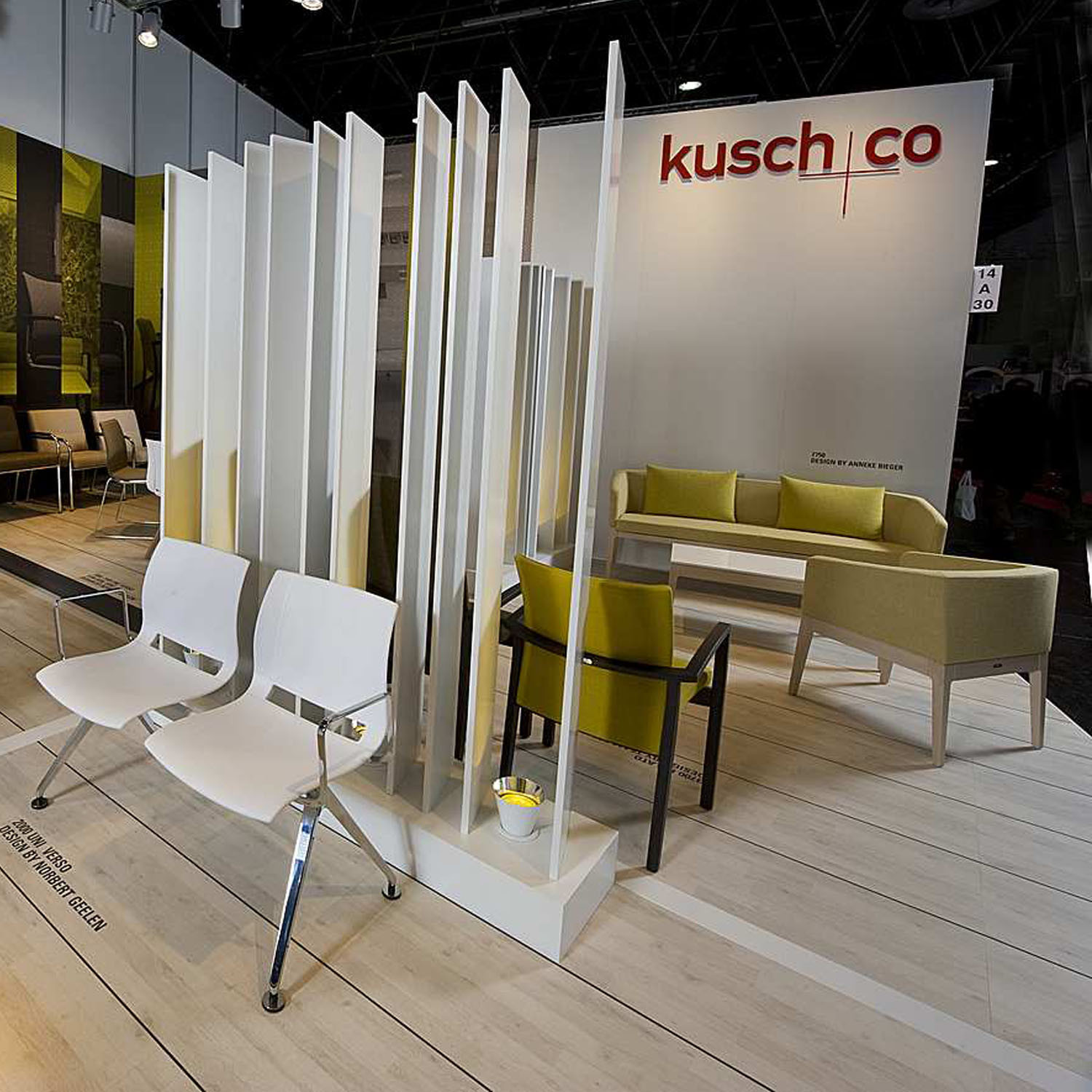 3700 Palato Seating ar Kusch+Co's Showroom