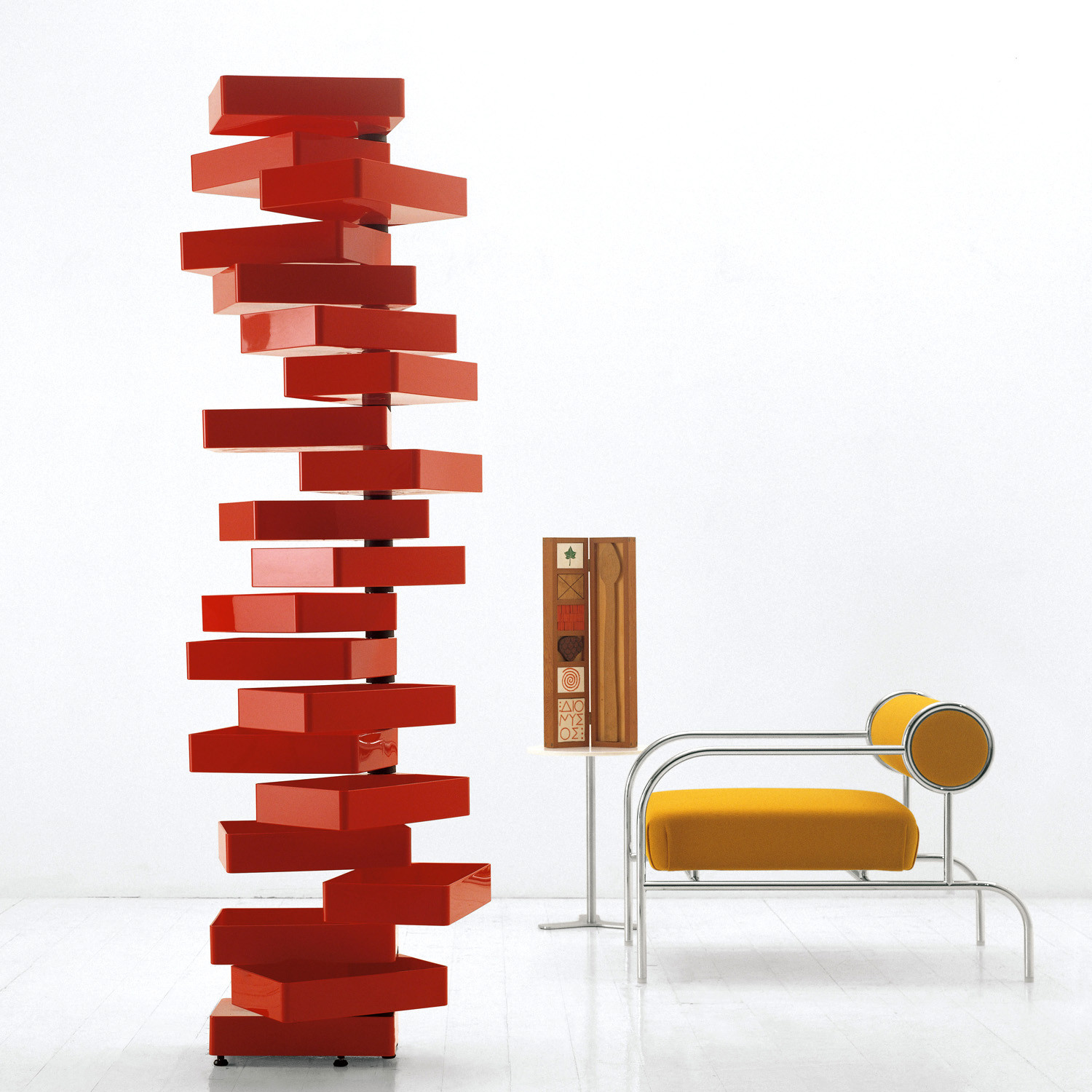 Revolving Chest of Drawers by Cappellini