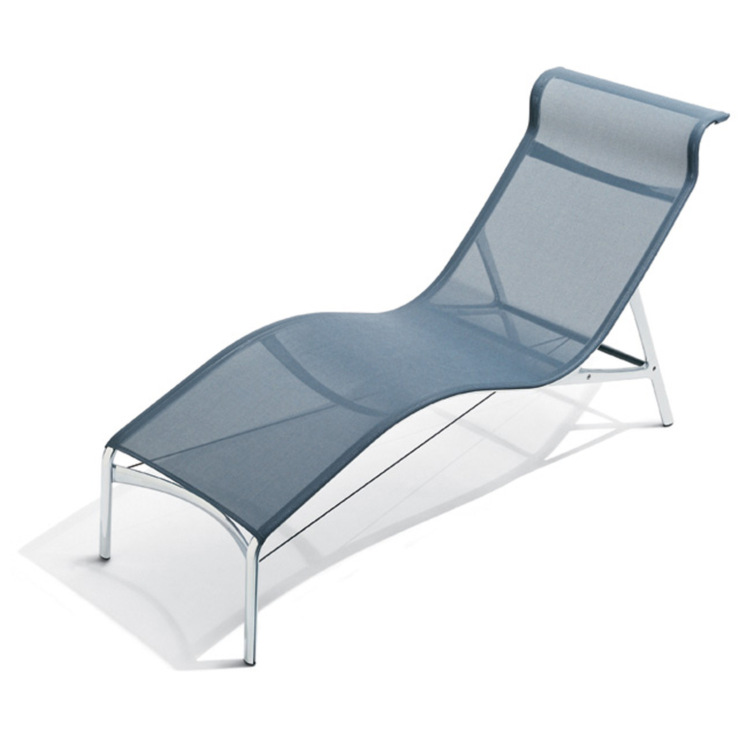 Green Outdoor Garden Relaxer Sun Lounger