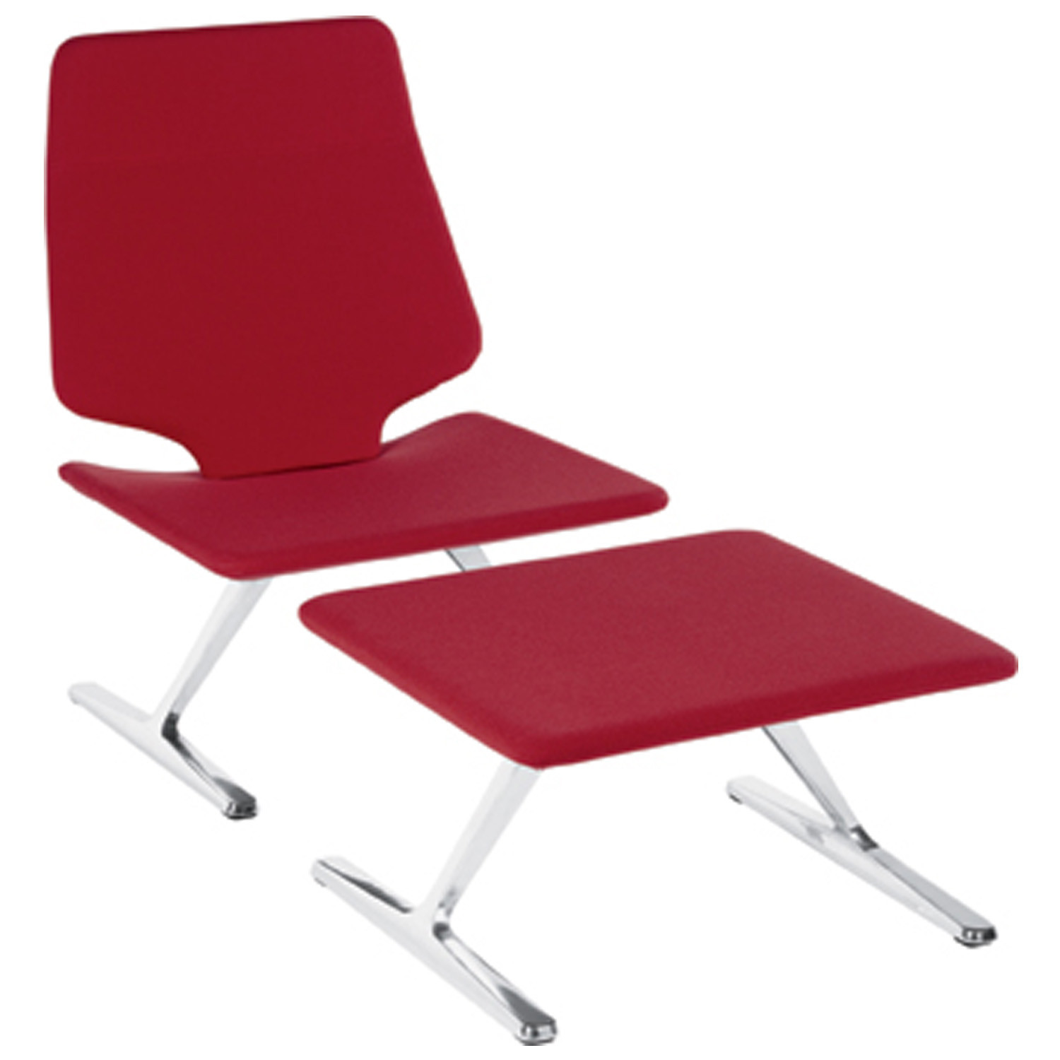 TT 628 Lounge Chair and TT 626 Footstool