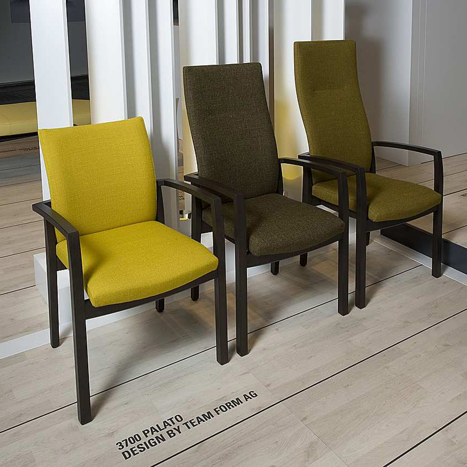 3700 Palato Armchairs designed by Team Form AG