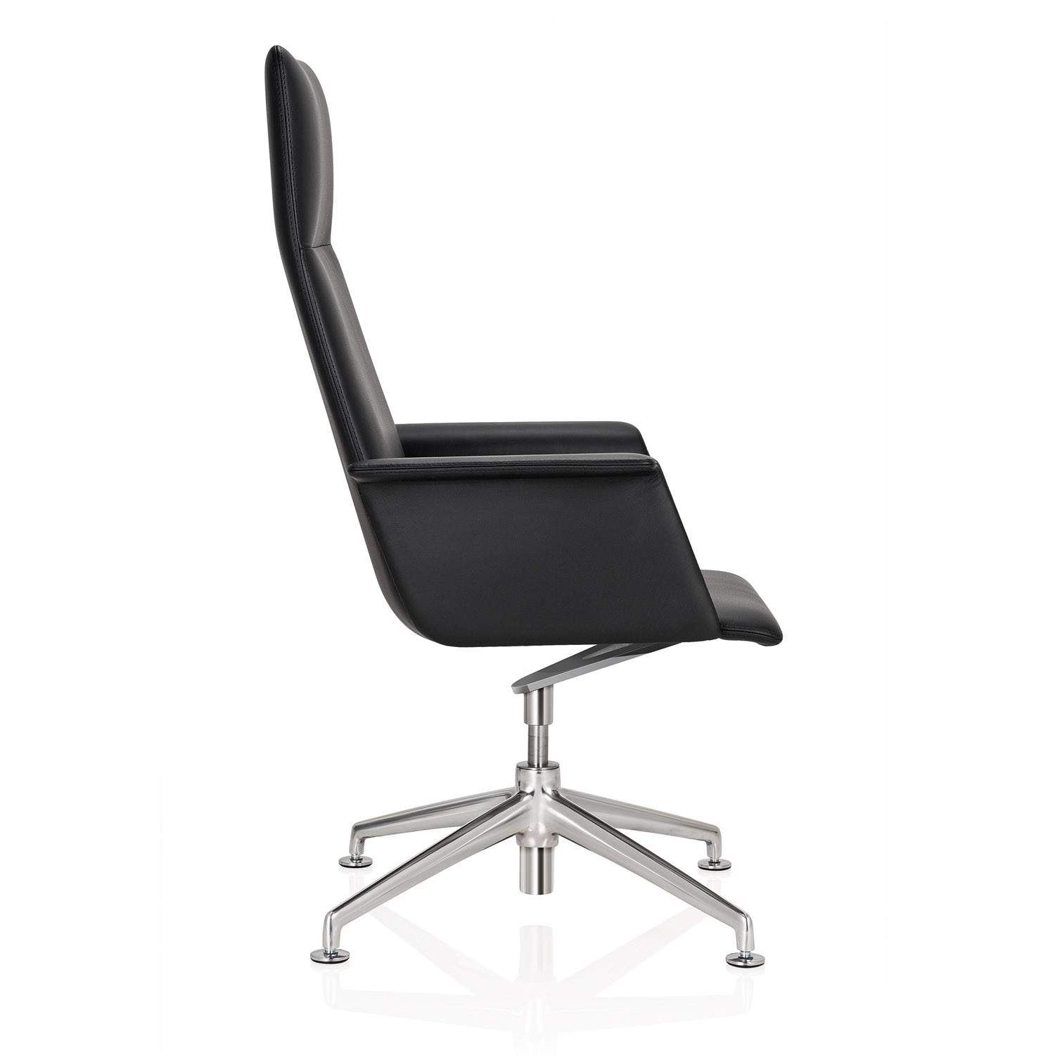 FinaSoft Conference Chair with Fully-Upholstered Armrests