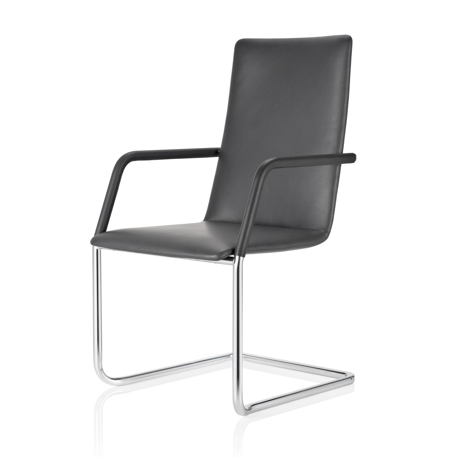 FinaSoft Cantilever Armchair with Mid-Backrest
