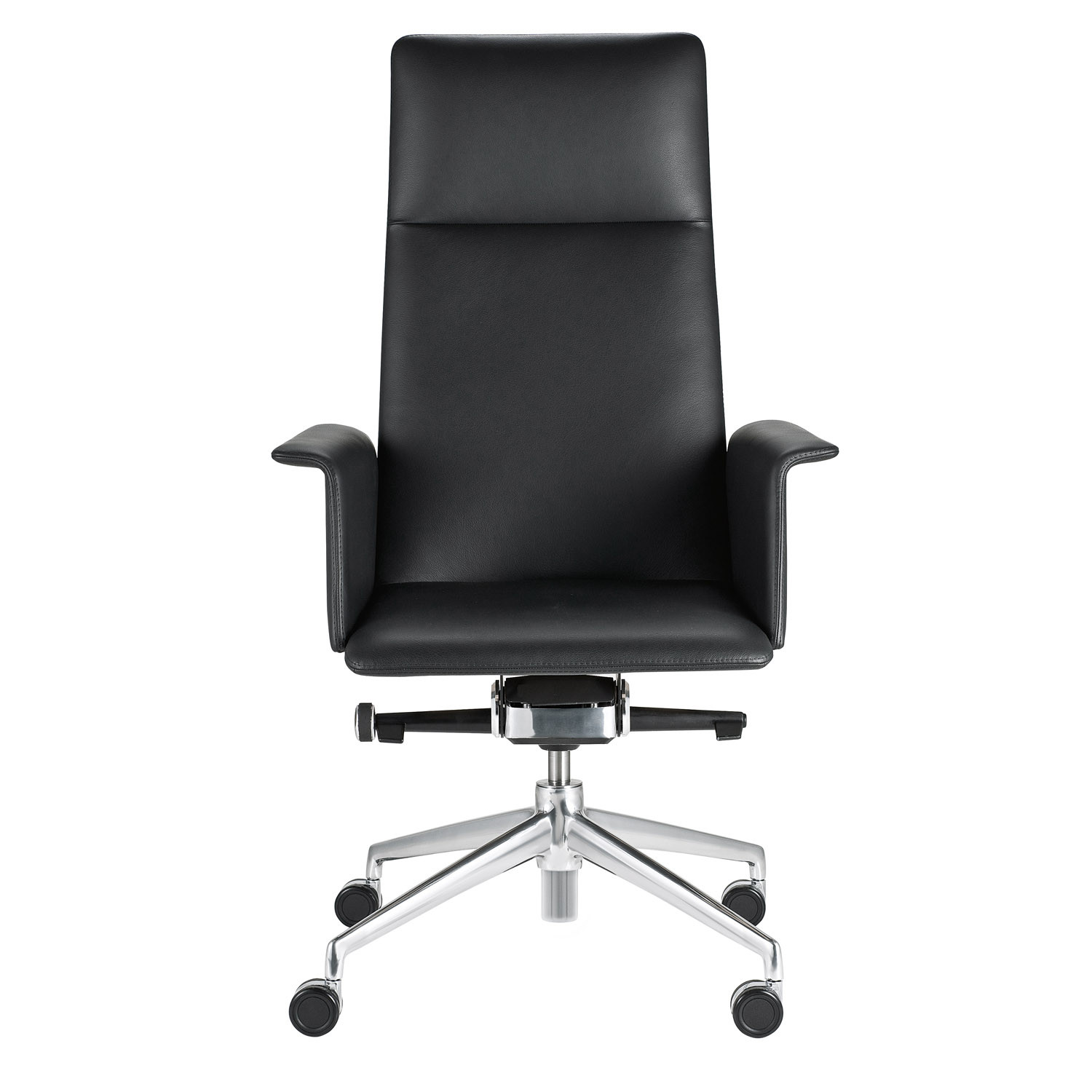 FinaSoft Executive Swivel Armchair - upholstered armrests