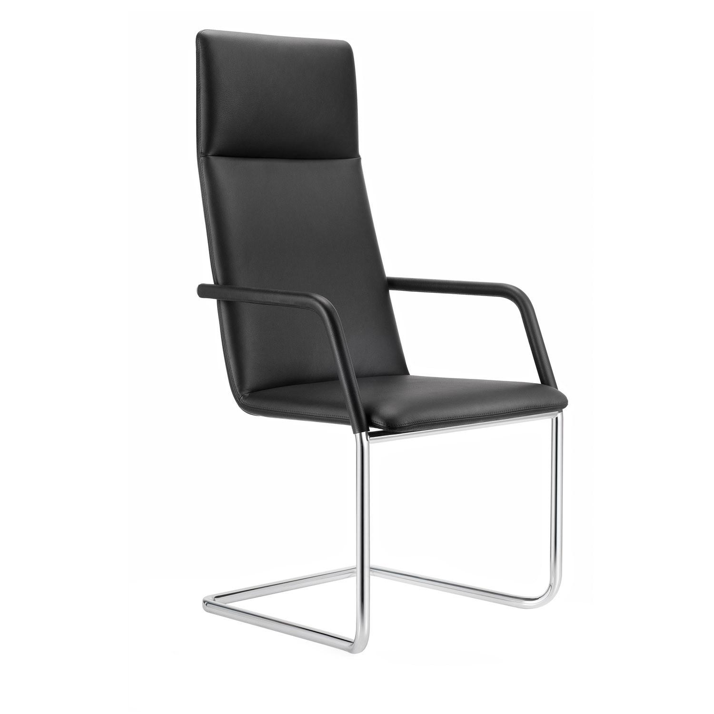 FinaSoft Cantilever Armchair with High-Backrest