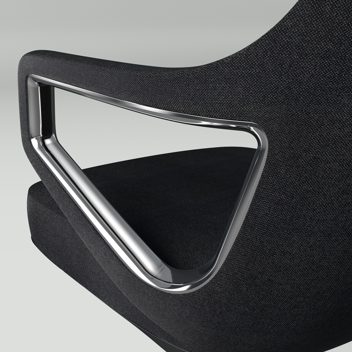 Fina Executive Chair Armrest Detail