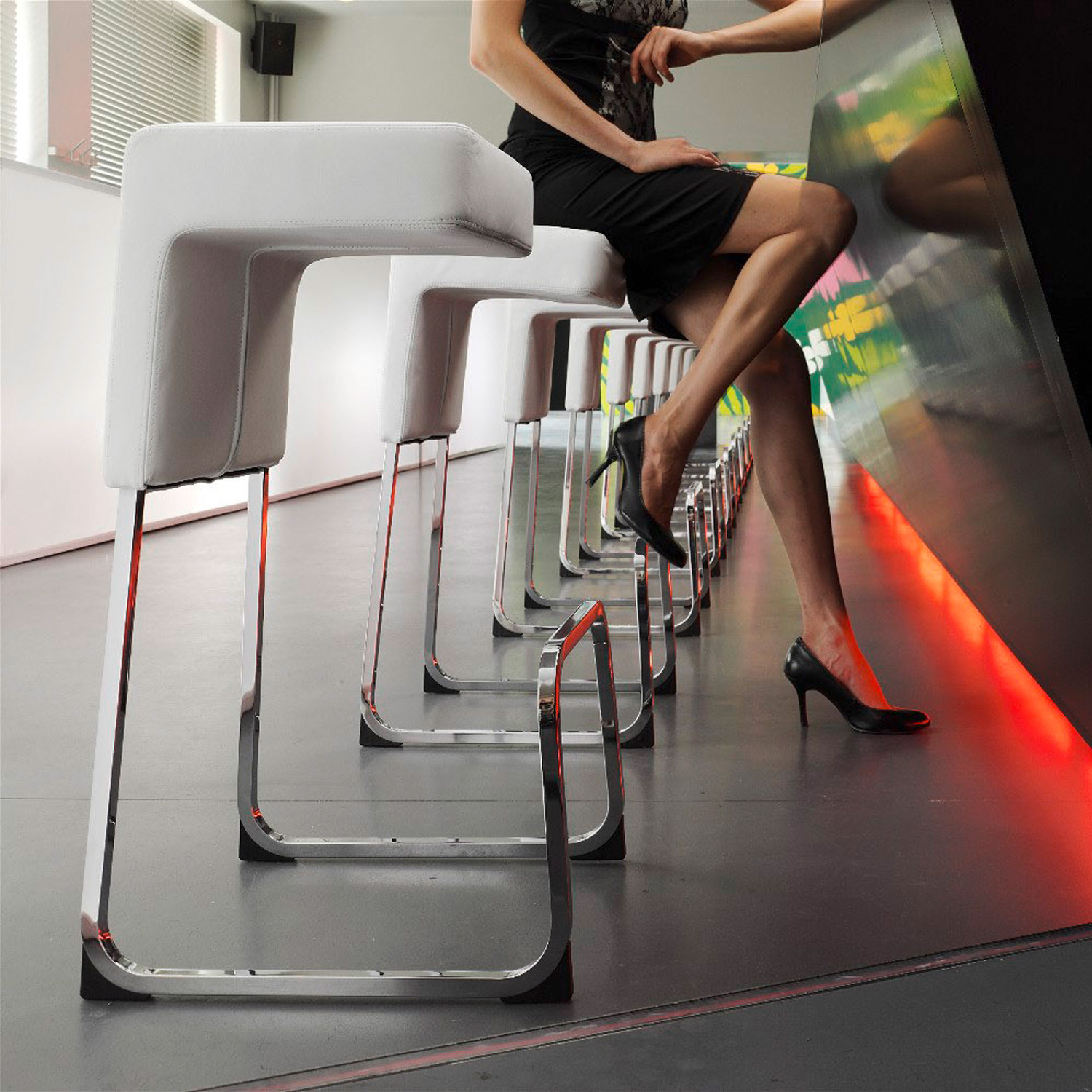 Fizz Bar Stool by Wiesner Hager