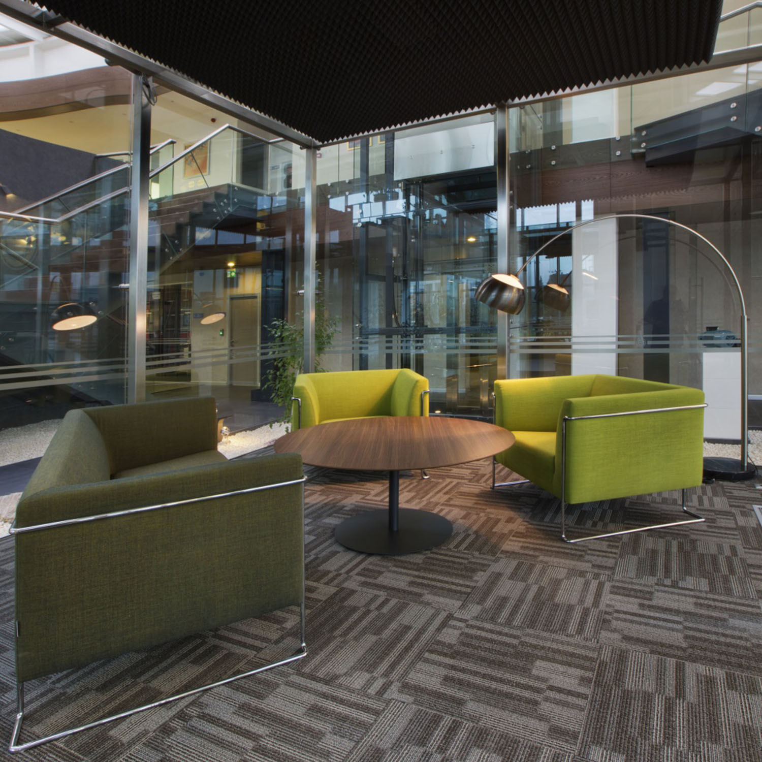 Flamingo Reception Seating by Koleksiyon