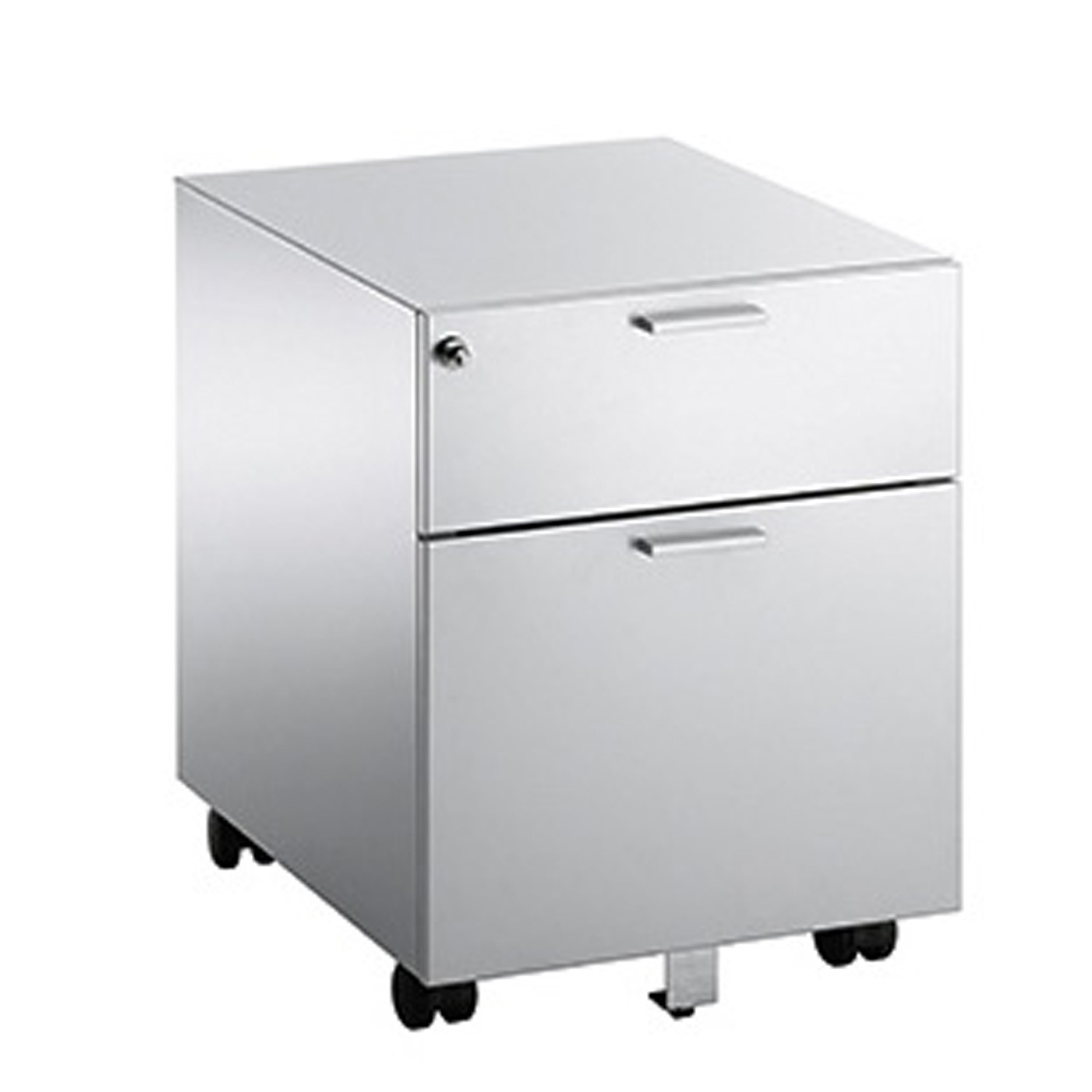 Flex 1 box dawer + 1 file drawer pedestal