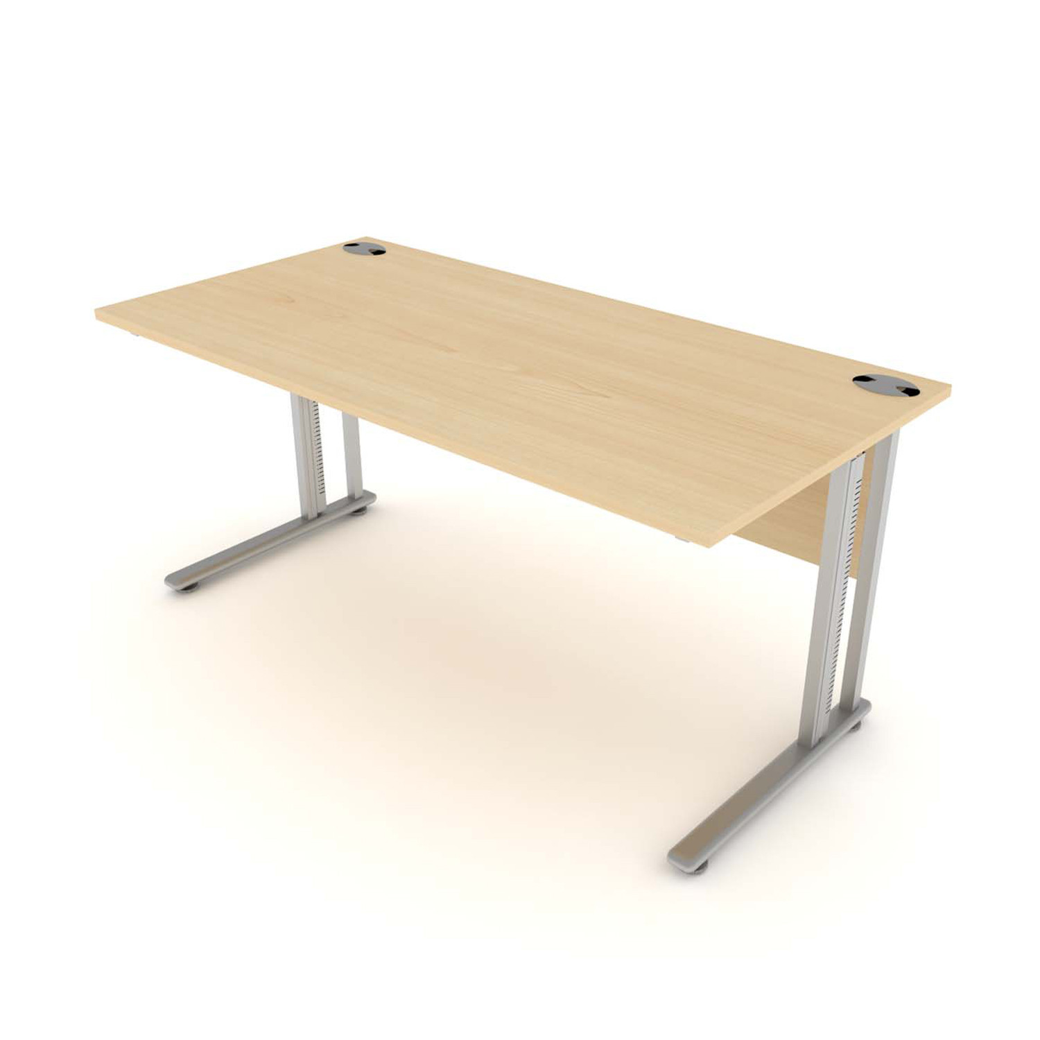 Flexi Desk with modesty panel