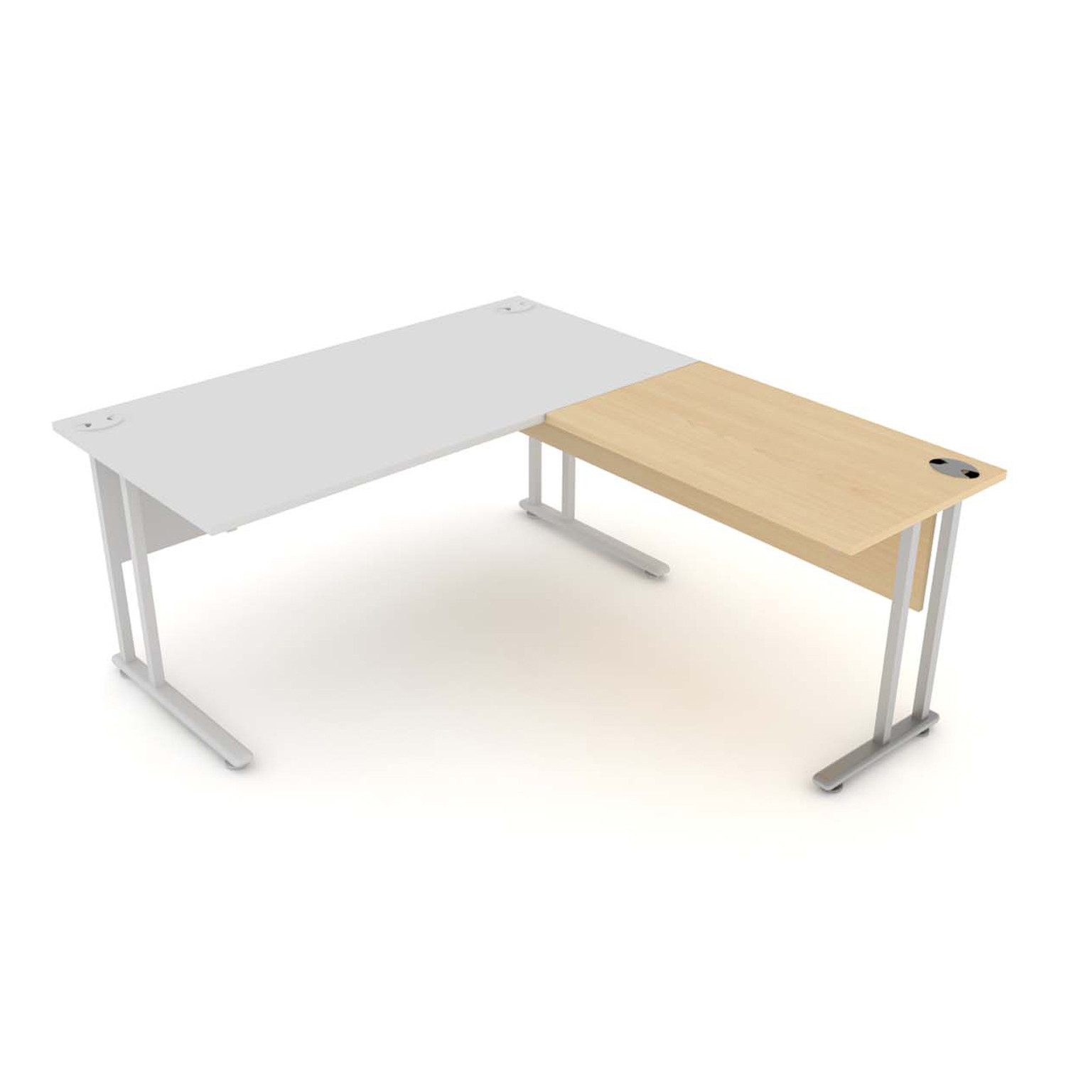 Configured Flexi Desk Modules