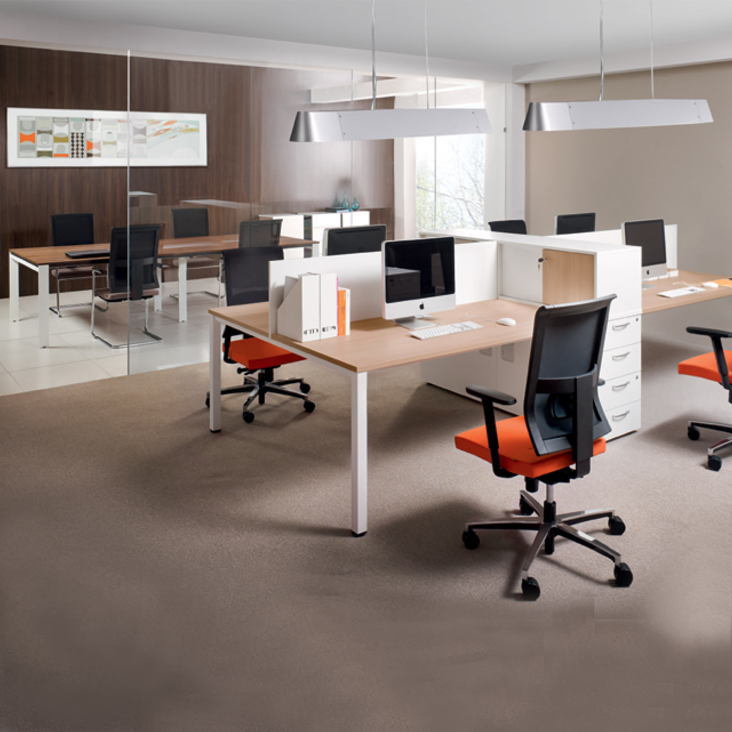 Flexido Open Plan Office Desks