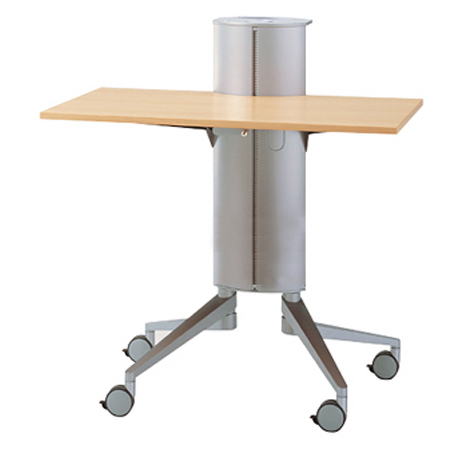 Flex Lectern Media Trolley Shelf