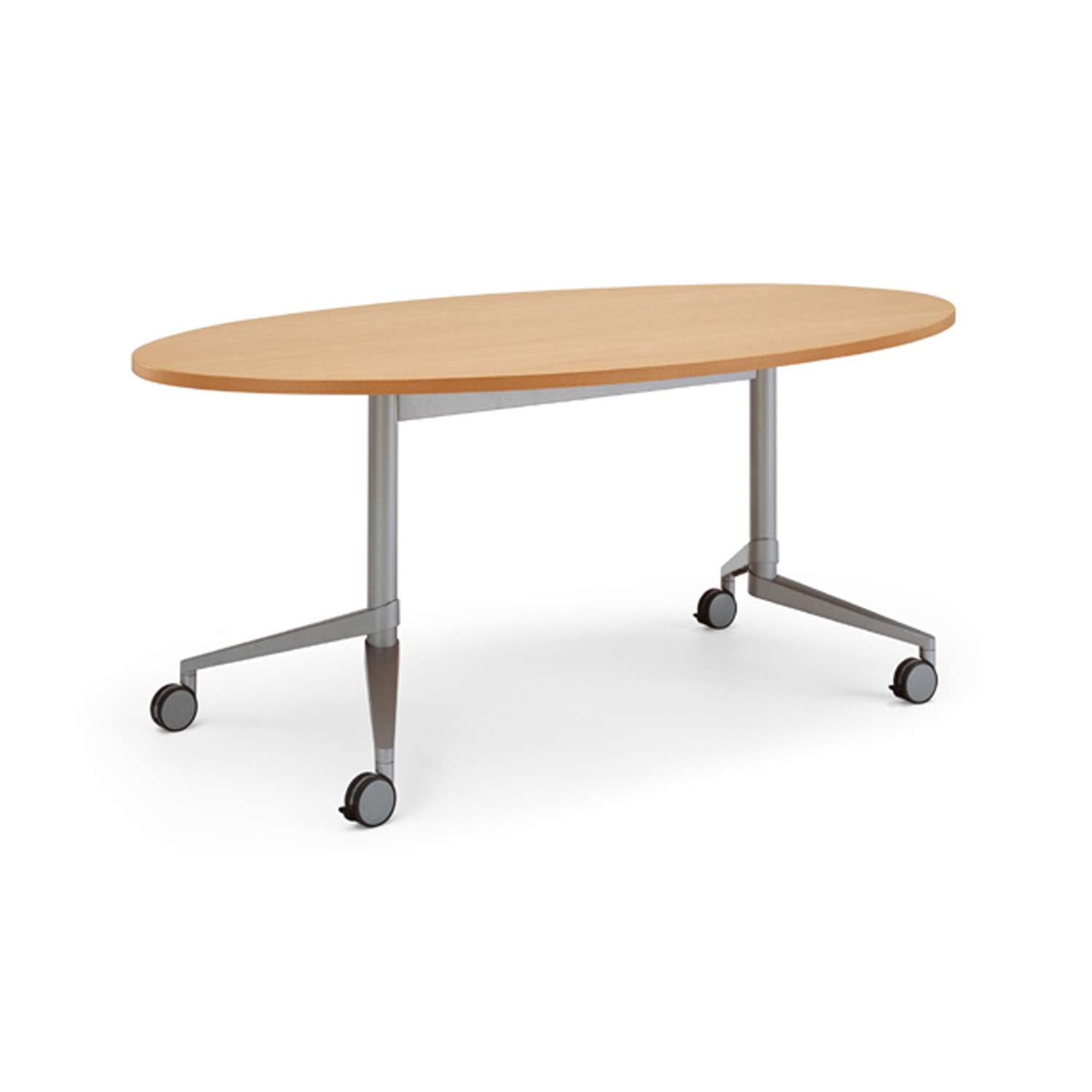 Flex Oval Mobile Table