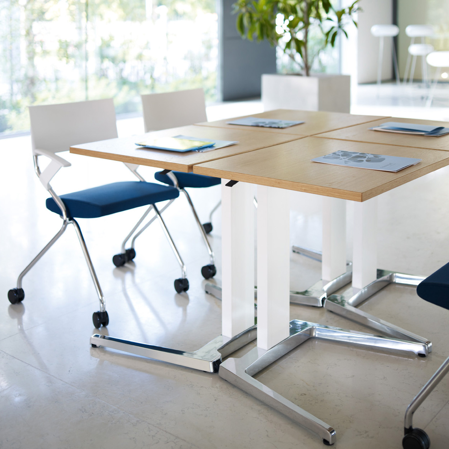 Flip Flap Chairs and Brainstorm Personal Desks