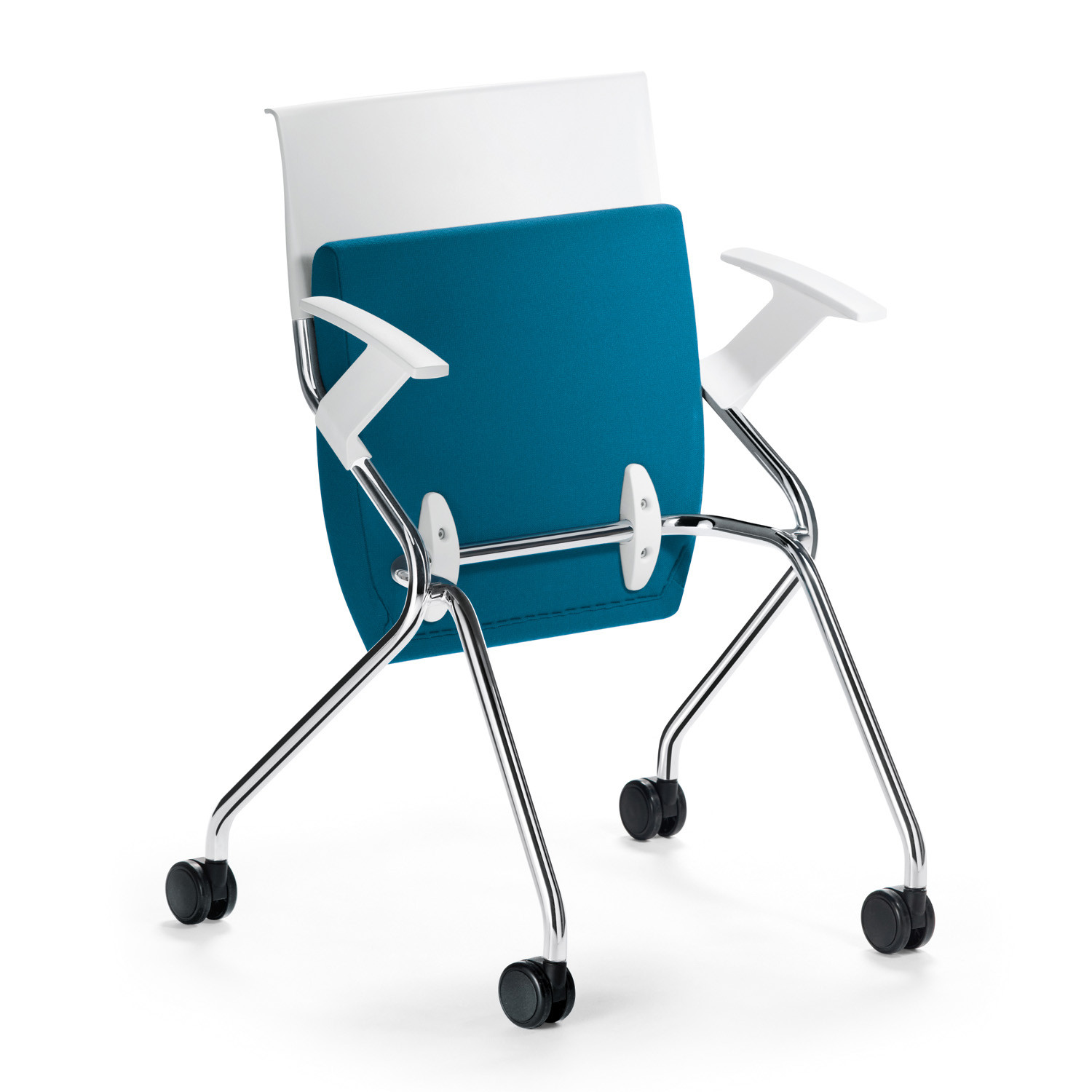 Flip Flap Folded Training Chair with armrests
