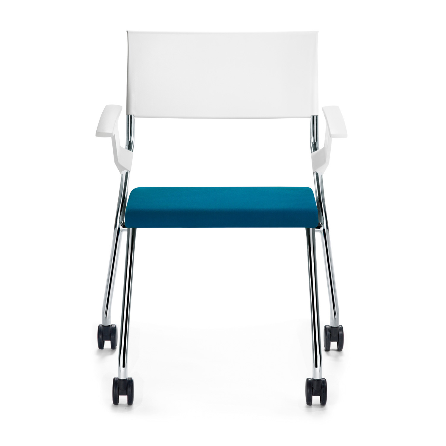 Flip Flap Upholstered Training Chair with armrests