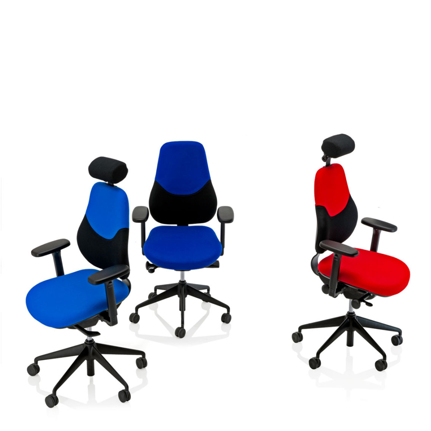 Flo Ergonomic Task Chairs by Orangebox