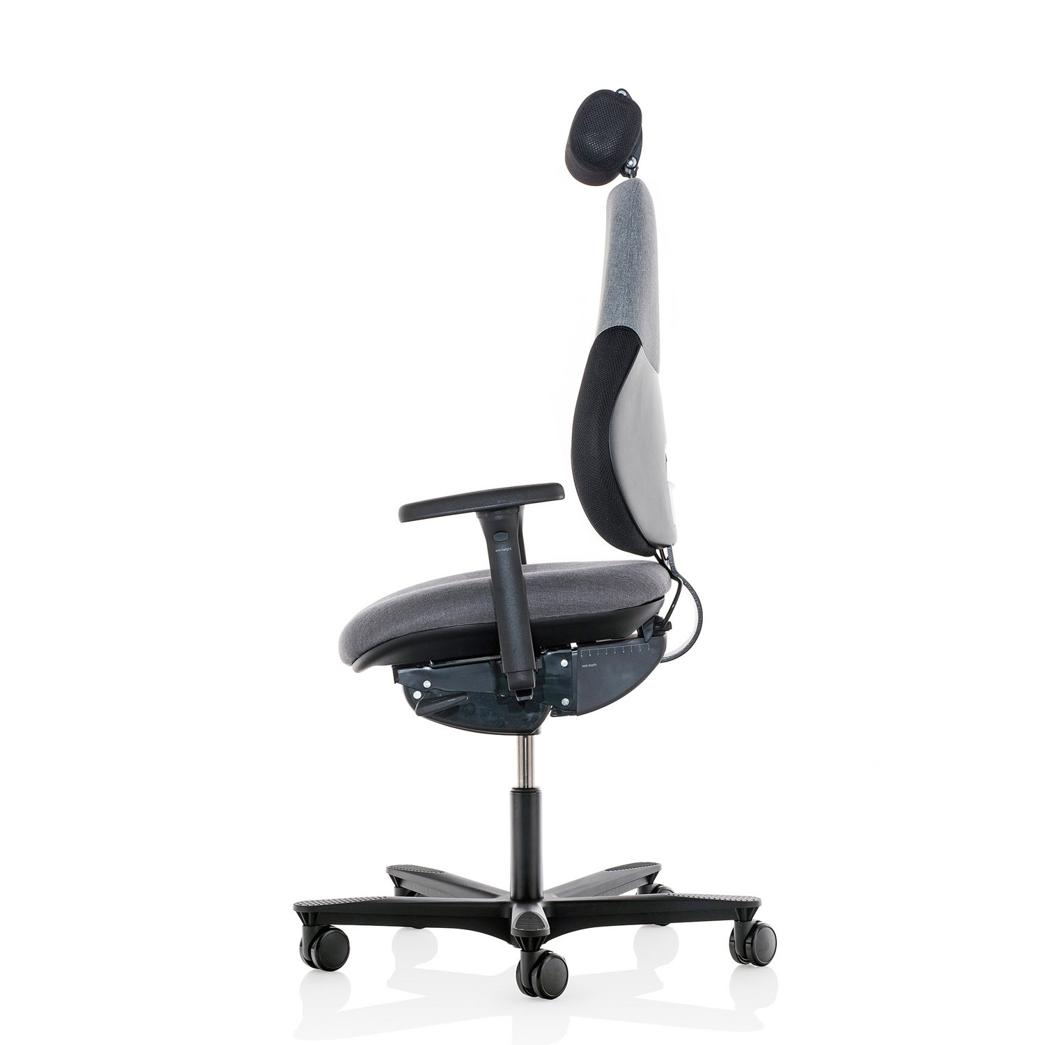 Flo Ergonomic Chair Side View