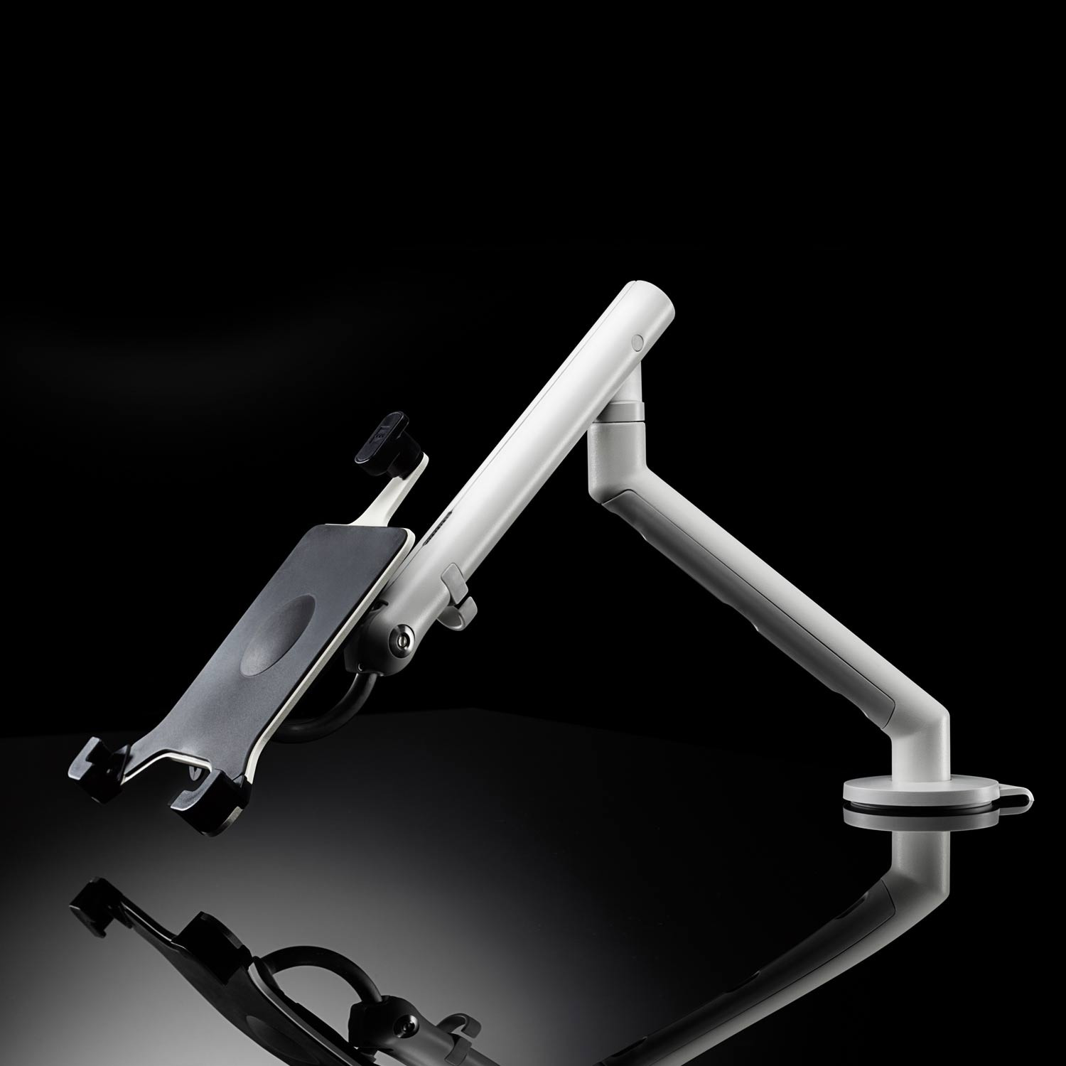 CBS Flo Dual Monitor Arm With Tablet Mount