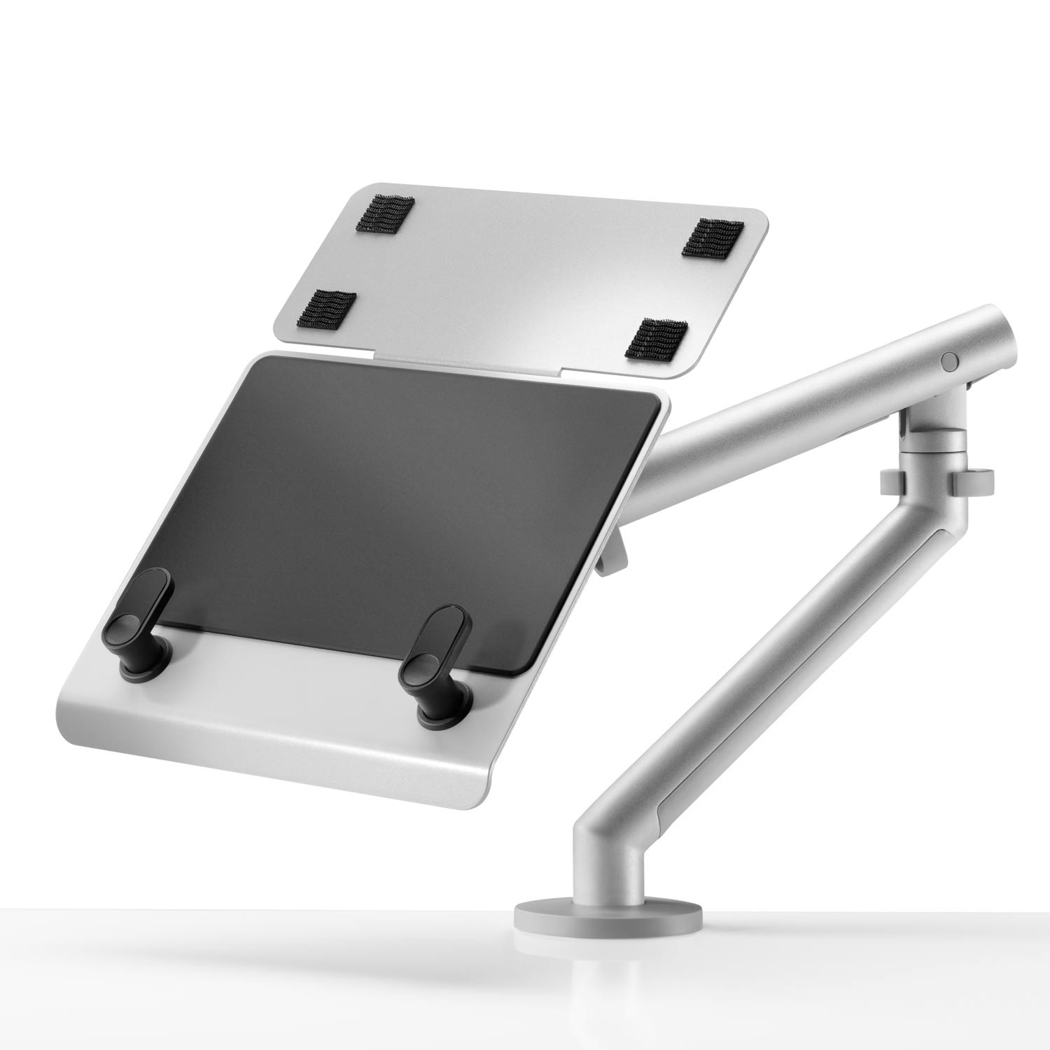 Laptop Mount with Docking Station Plate