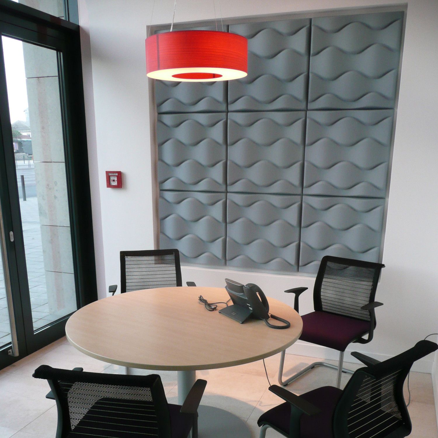 Flo Acoustic Wall Panel by Offecct