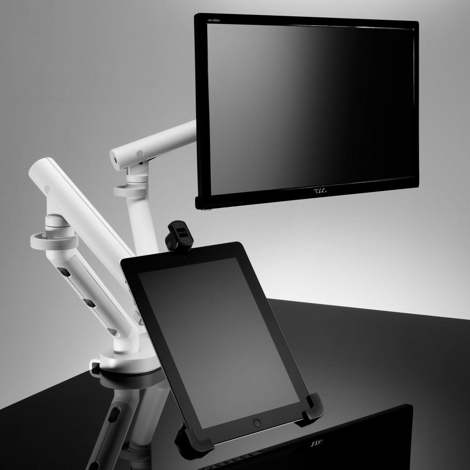 Flo Monitor Arms Holds iPads