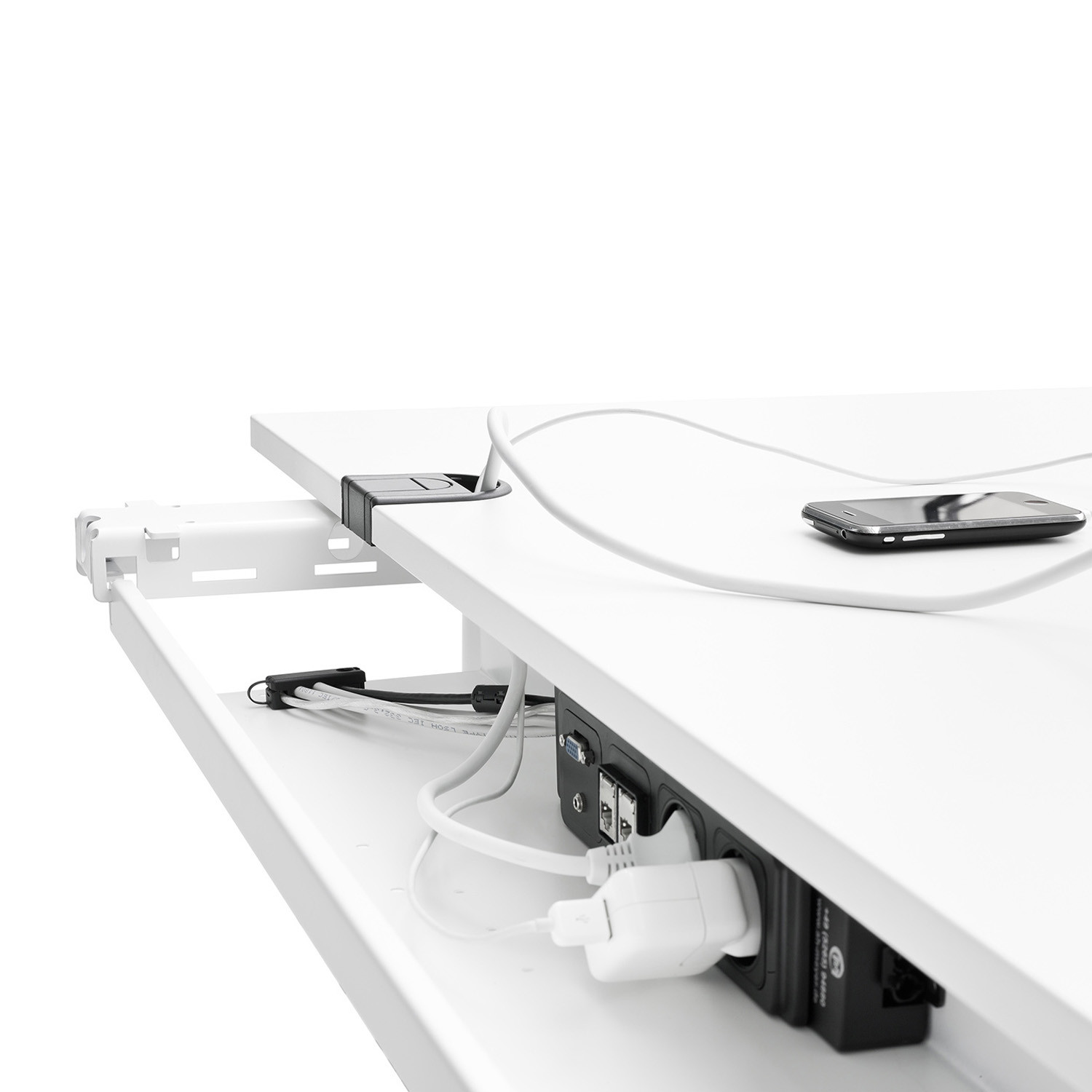 Foxx Adjustable Table Cable Tray