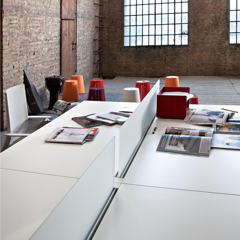 Frame Plus Office Bench Desk Dividers