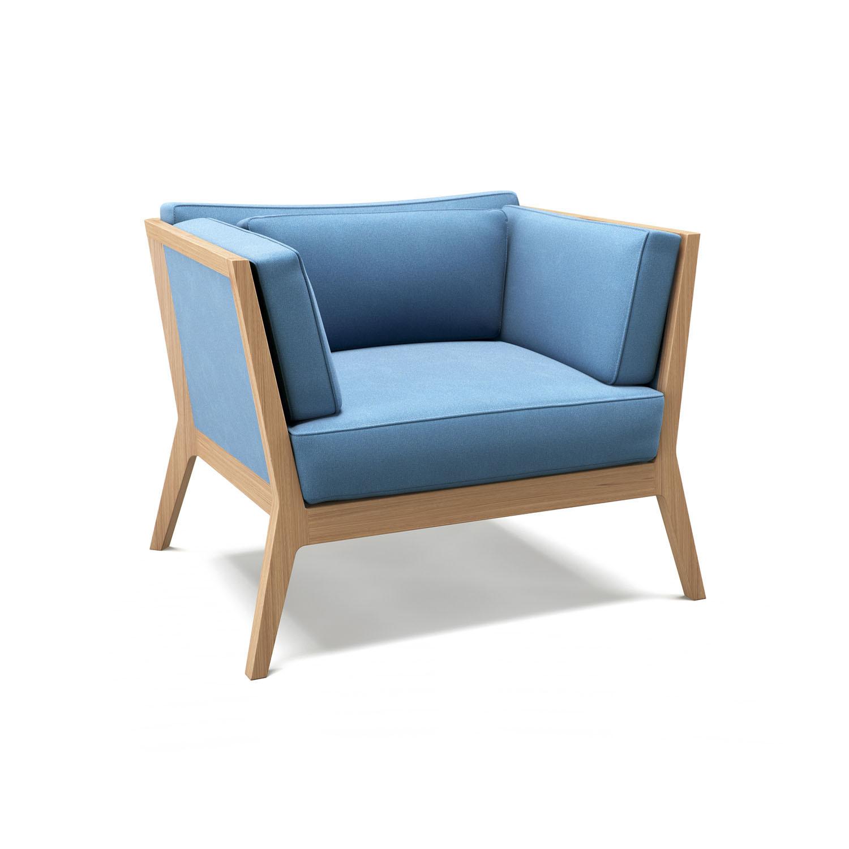 Frank Armchair by Lyndon Design