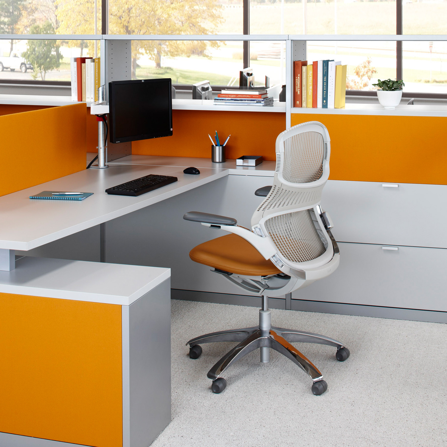 Generation Swivel Office Chair by Knoll