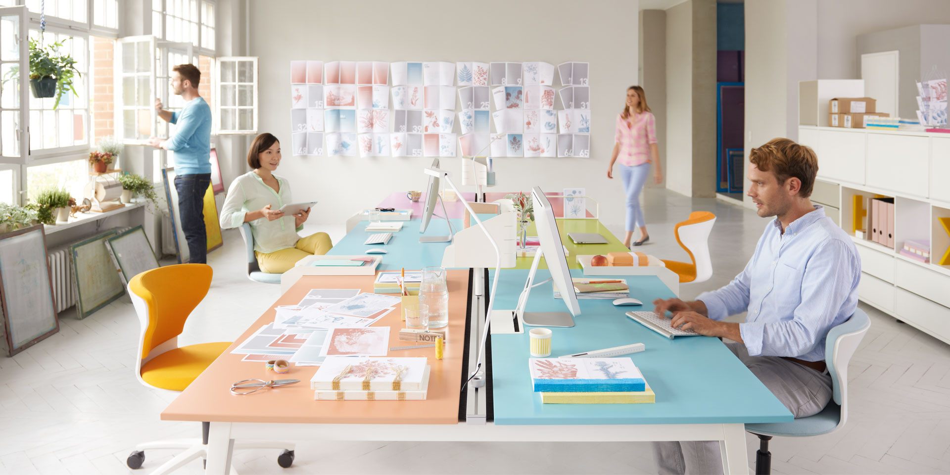 Sedus Get Together Beam Desk