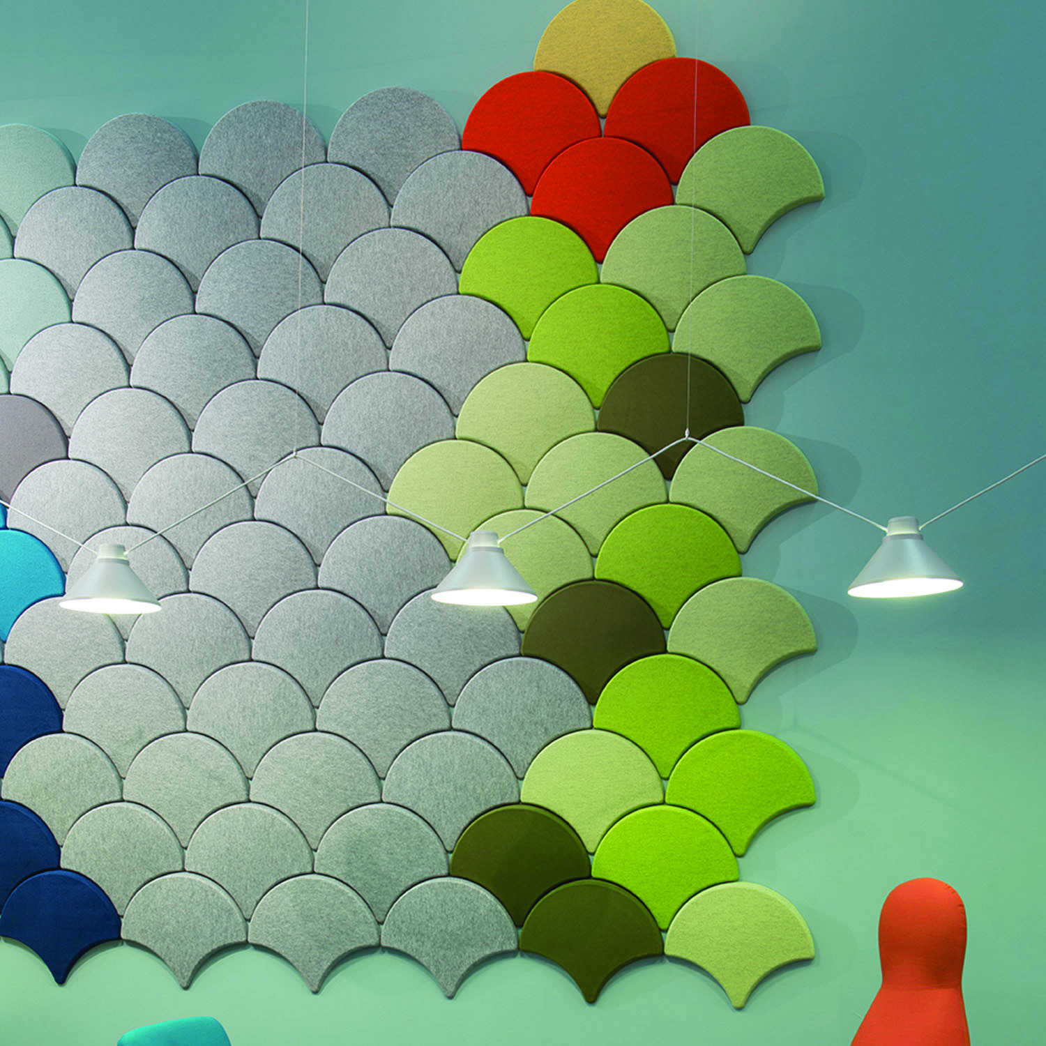 Ginkgo Sound Absorbing Wall Panels