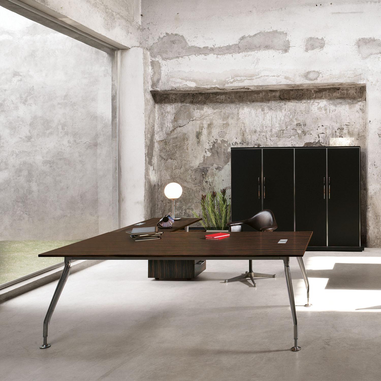 Glamour Executive Wooden Veneer Desk