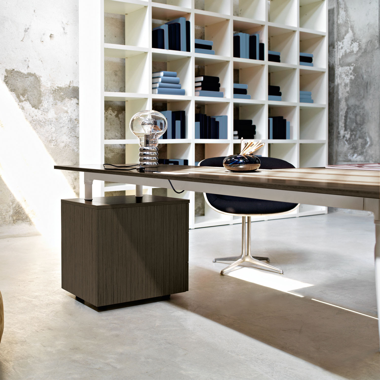 Glamour Executive Desk Pedestal by Sinetica