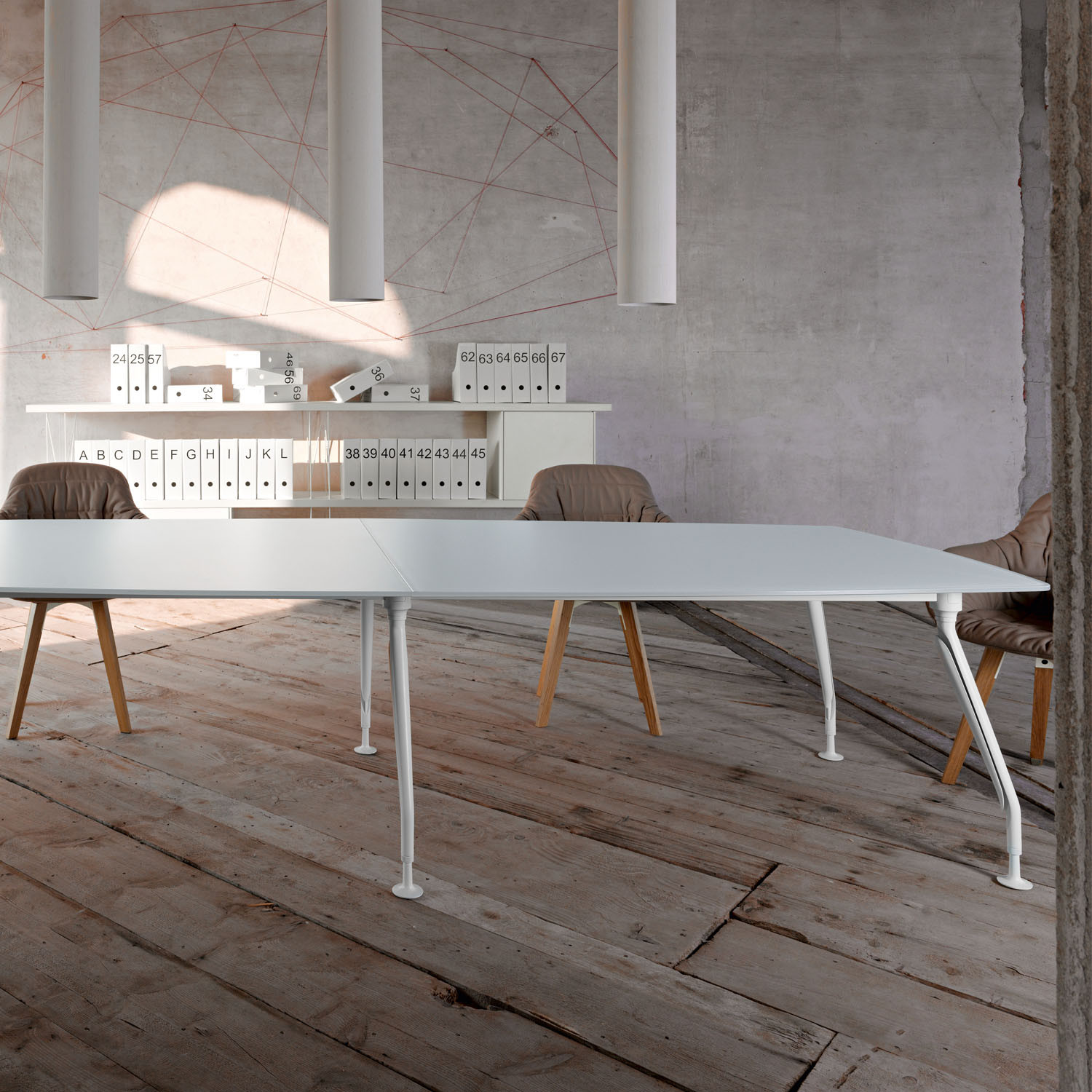 Sinetica Glamour Conference Table